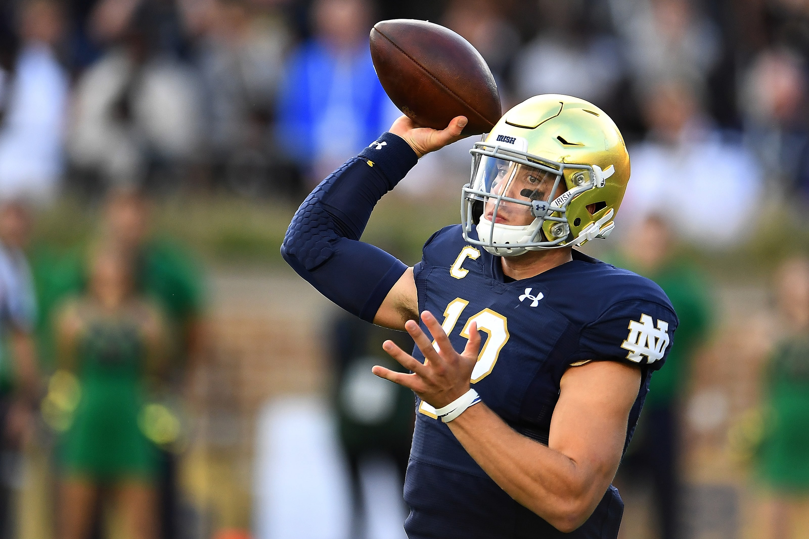 Position By Position Review: Notre Dame vs. USC
