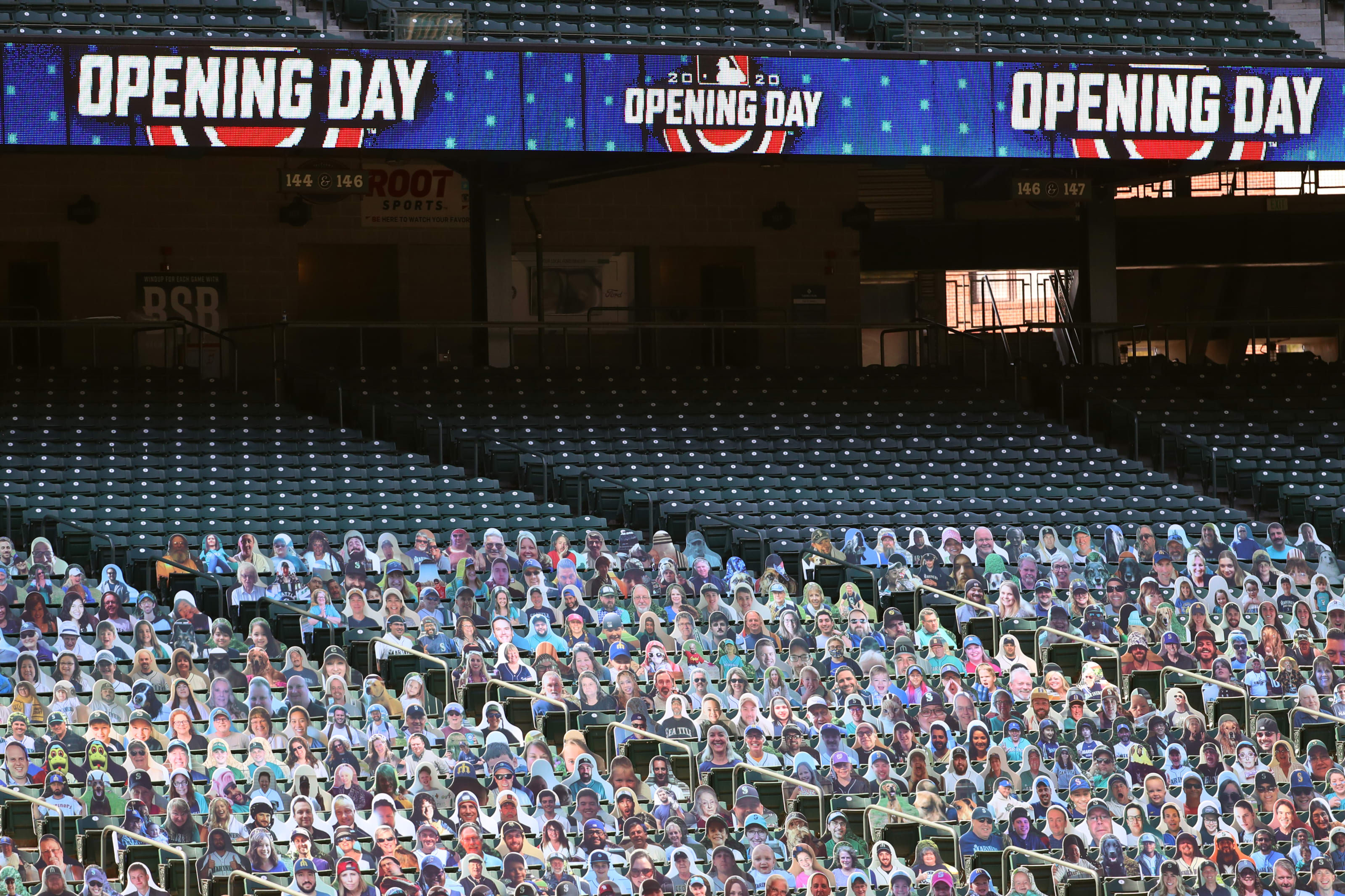 Seattle Mariners Opening Day