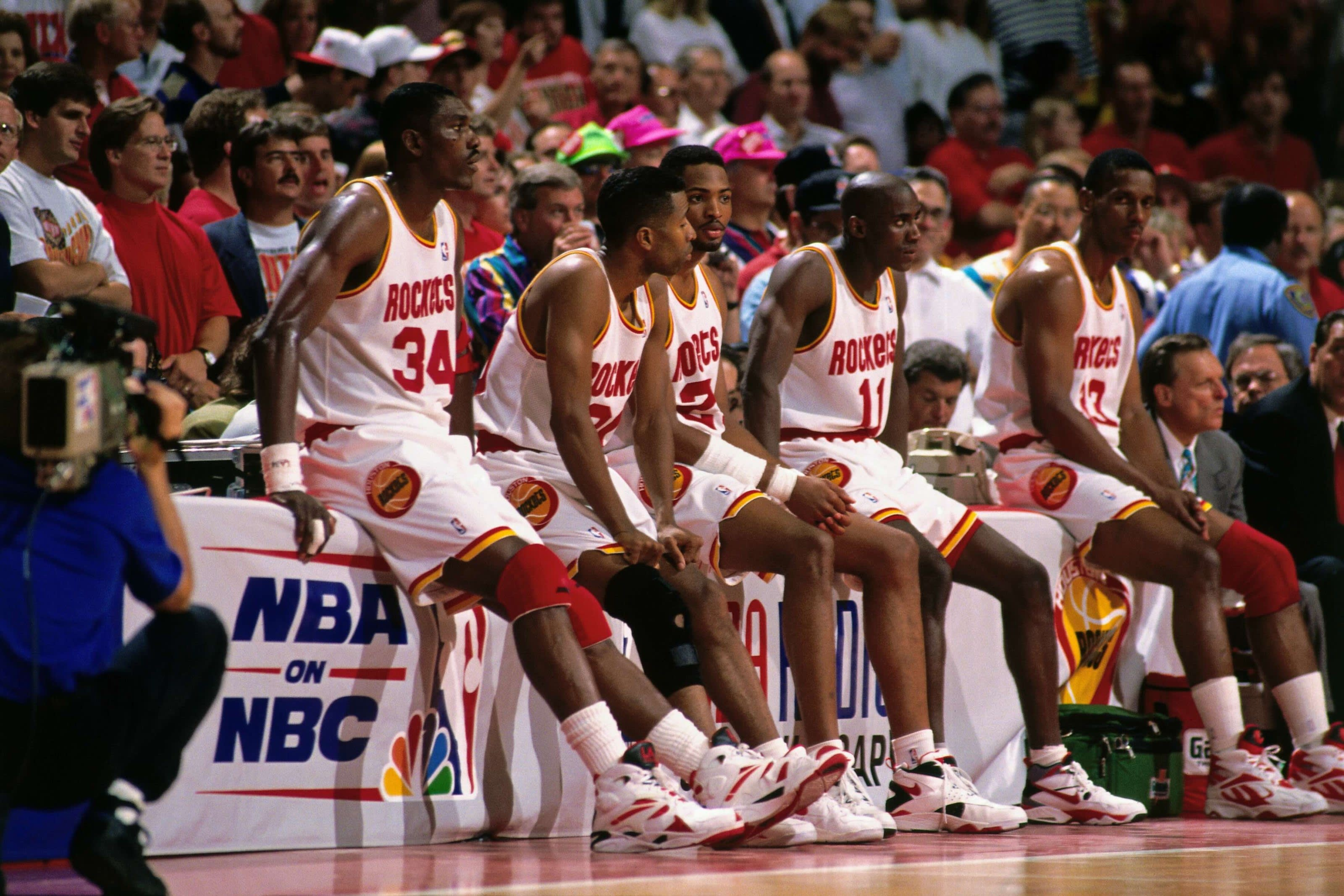 Houston Rockets, Kenny Smith, Hakeem Olajuwon, Robert Horry, Otis Thorpe