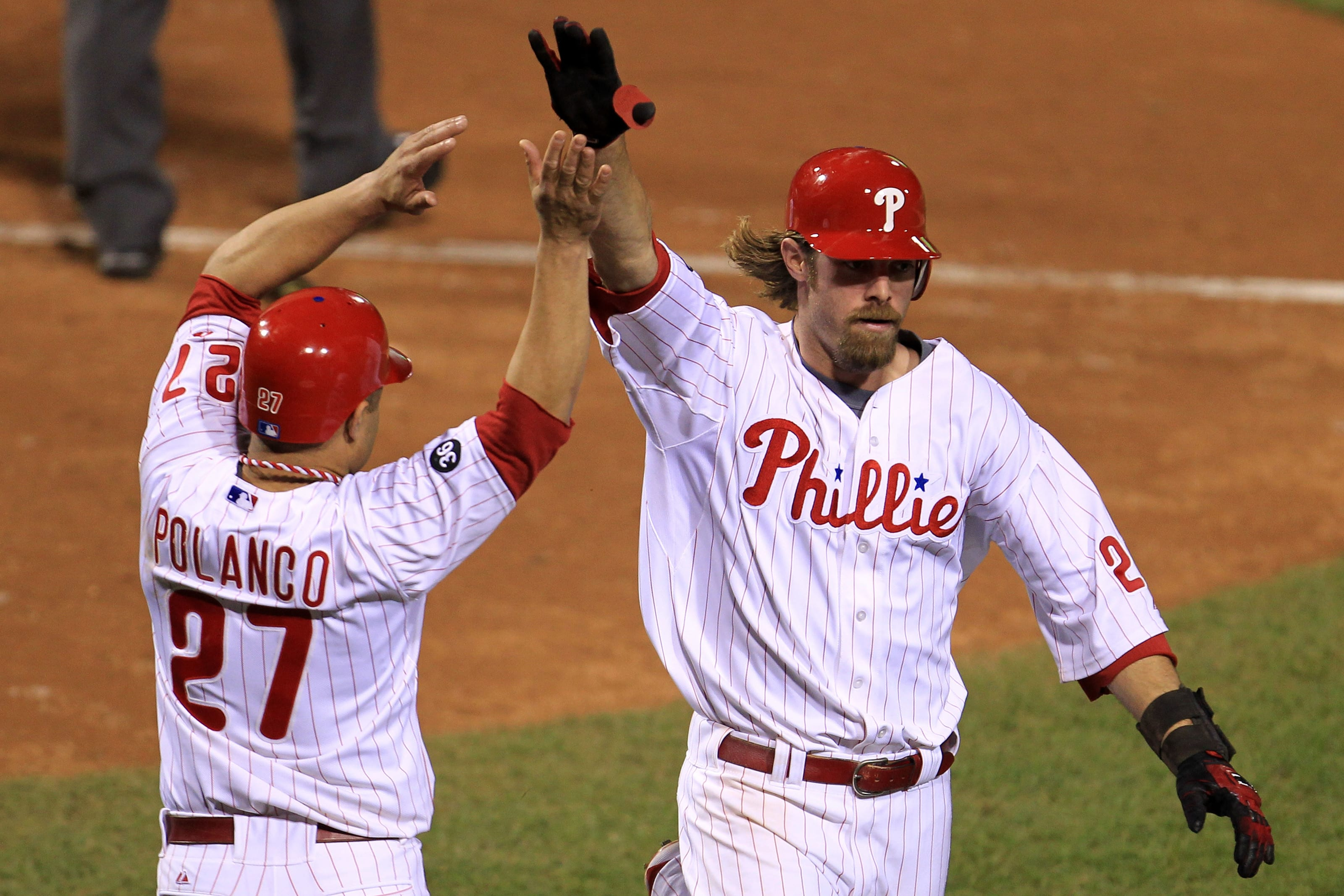 Jayson Werth, Placido Polanco, Philadelphia Phillies