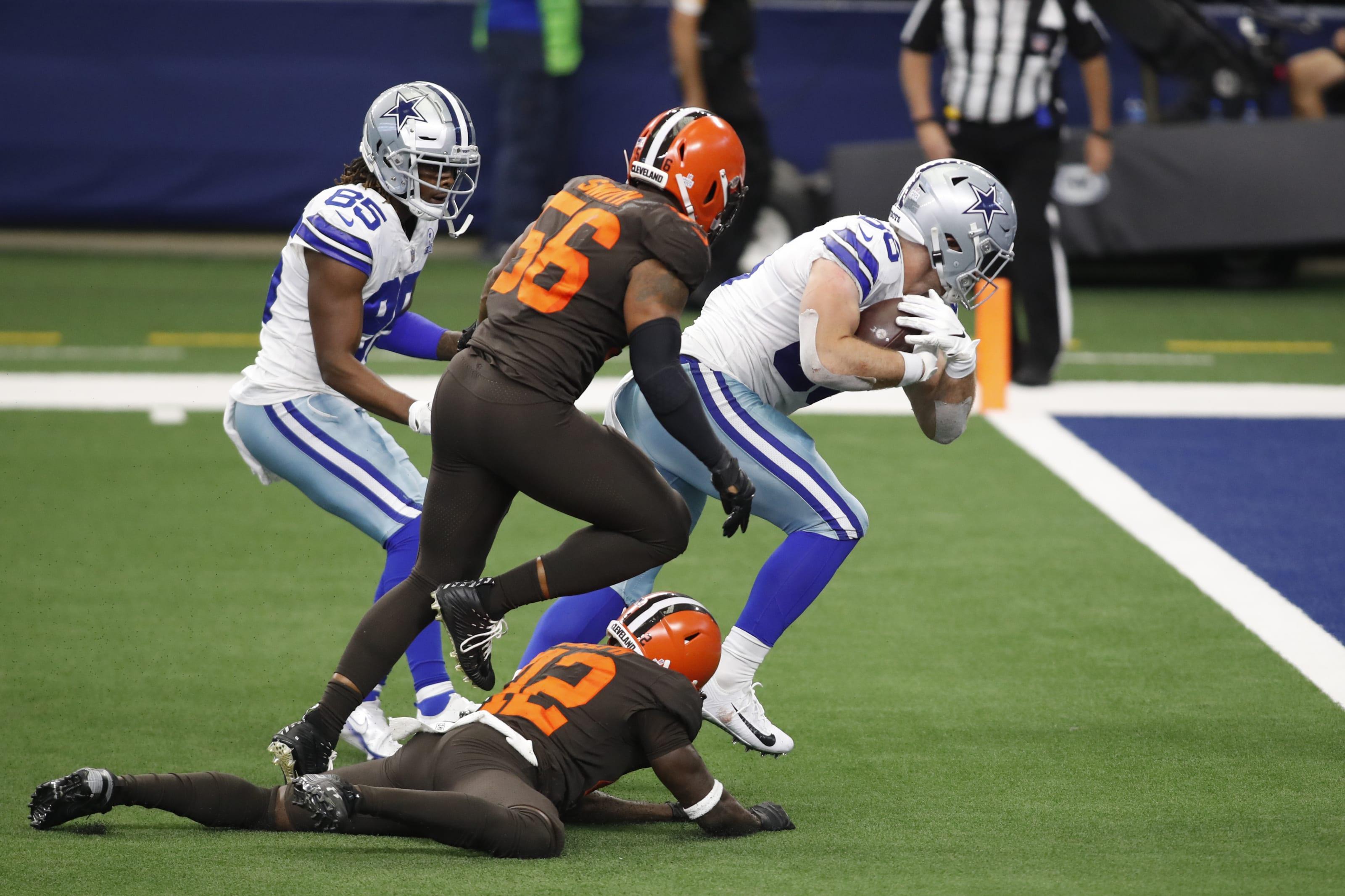 Dallas Cowboys tight end Dalton Schultz