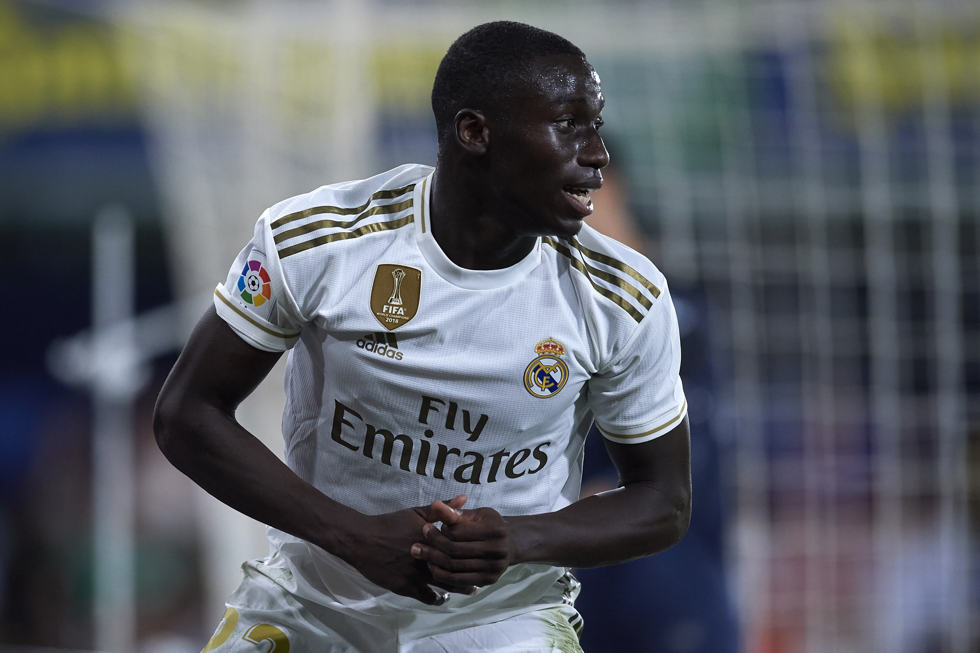 Ferland Mendy joined this summer from Lyon