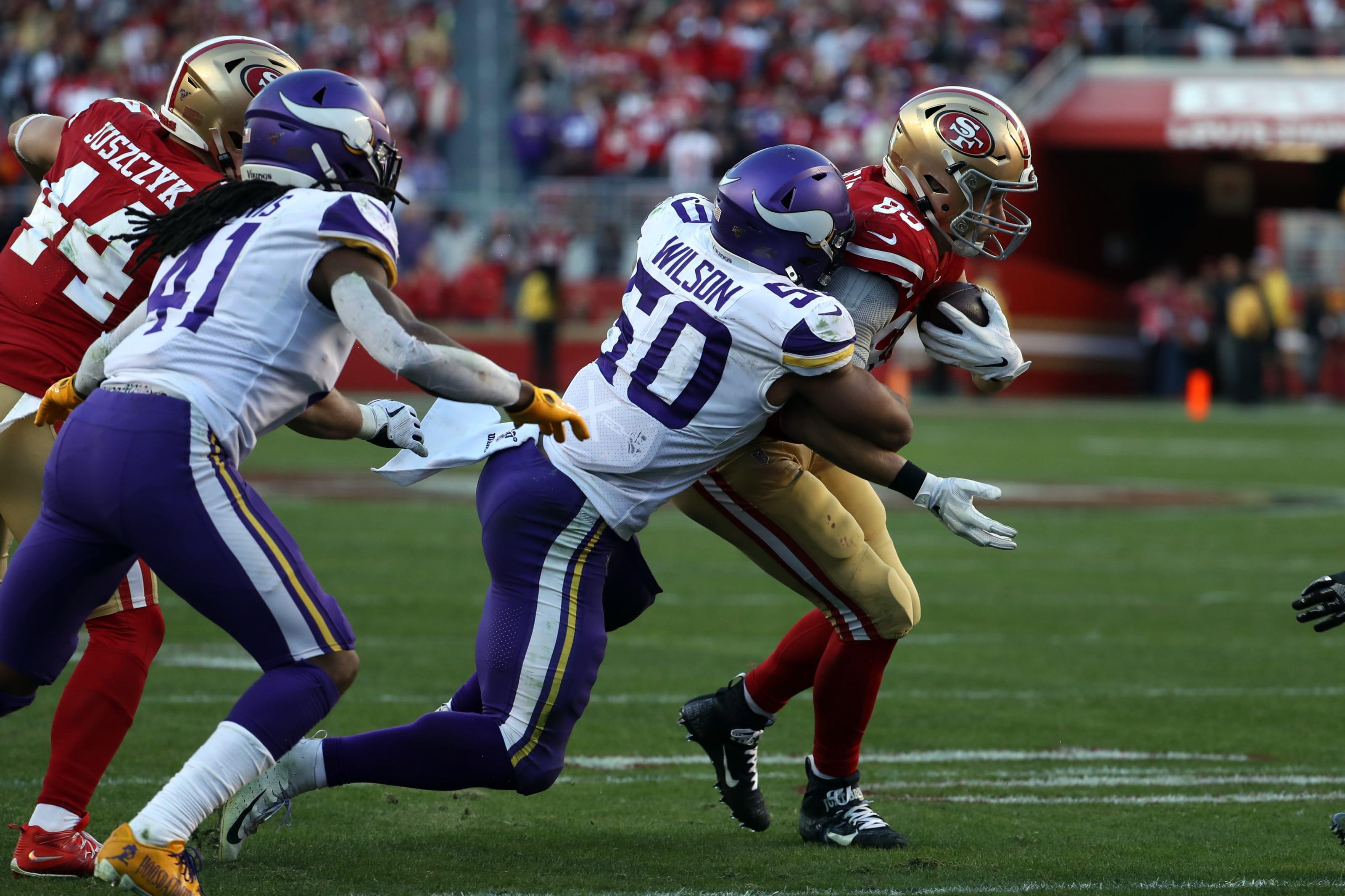 Minnesota Vikings Mvps Divisional Round Vs San Francisco 49ers