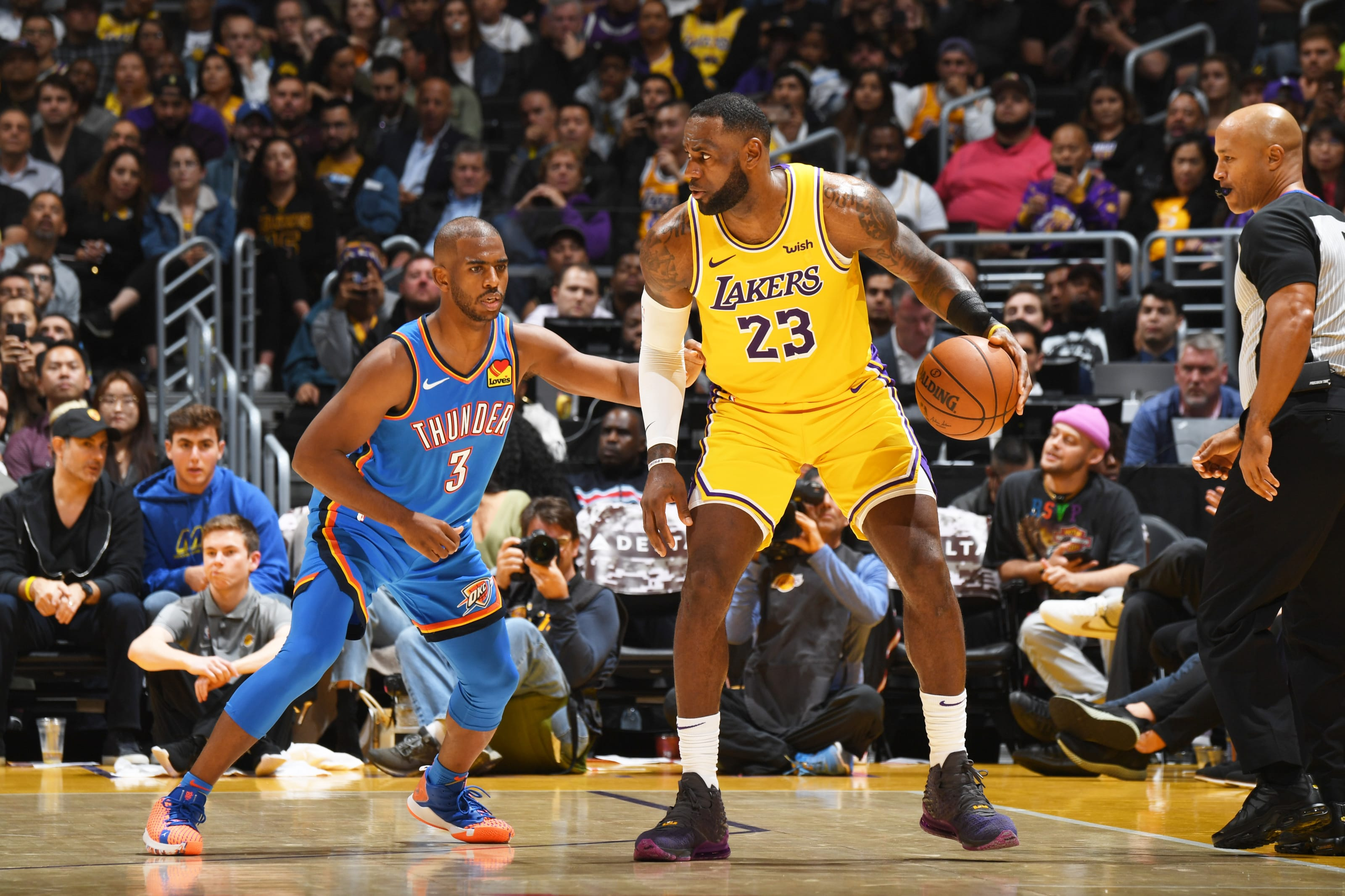 OKC Thunder tackle West top seeded Lakers - gameday preview