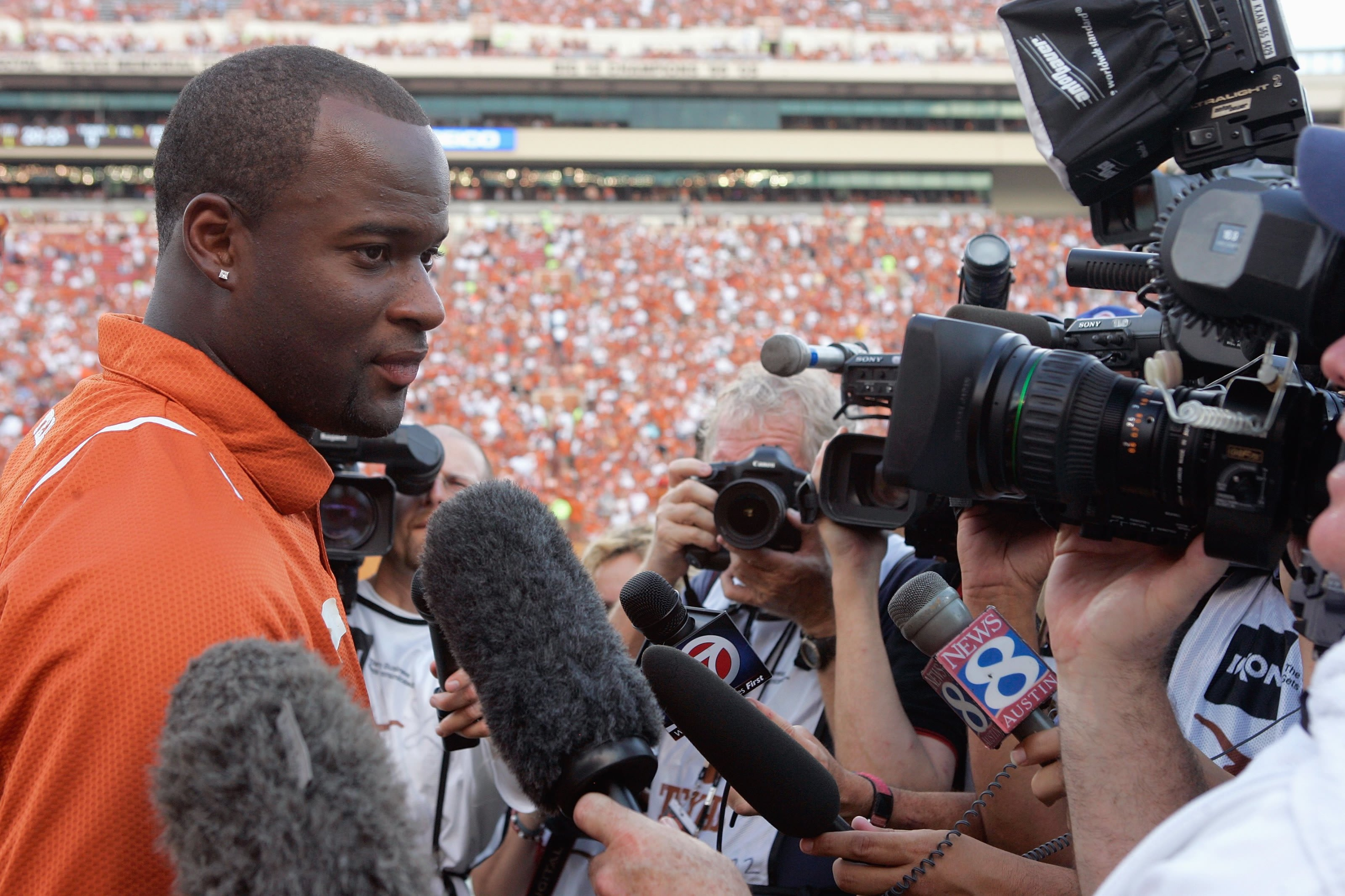 Vince Young was a star at the University of Texas.