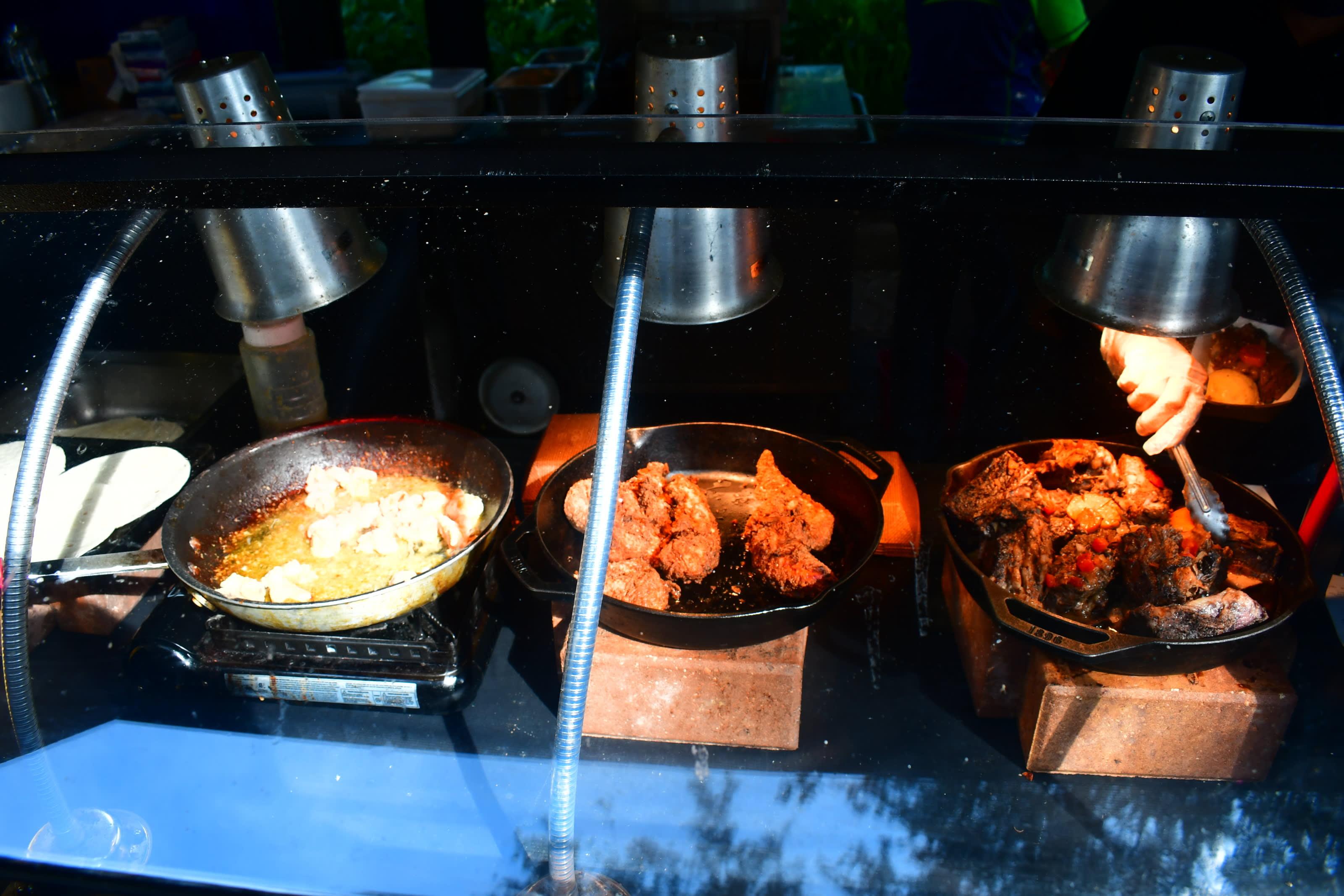 SeaWorld food kiosk