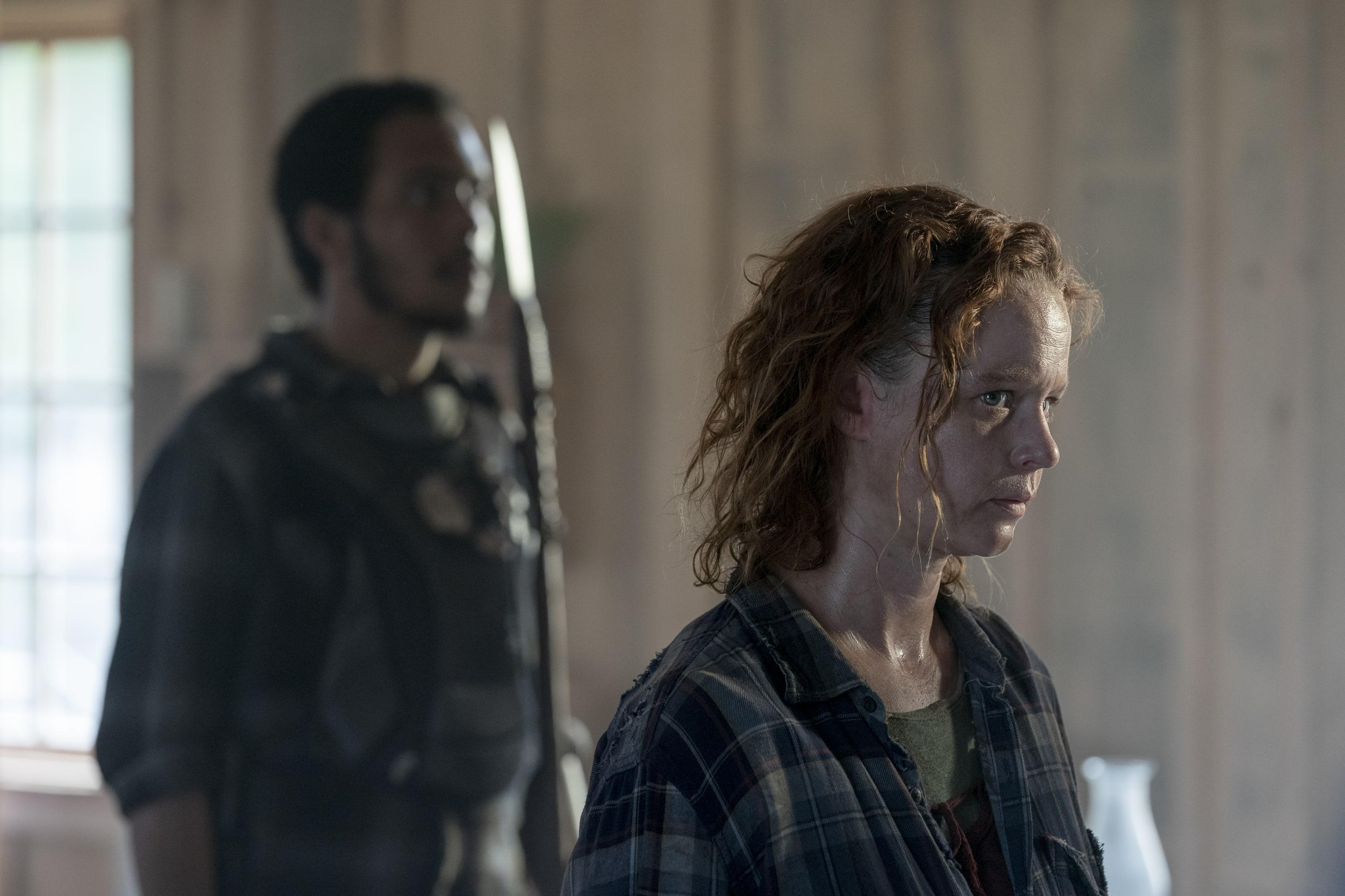 Thora Birch as Gamma- The Walking Dead _ Season 10, Episode 10 - Photo Credit: Bob Mahoney/AMC