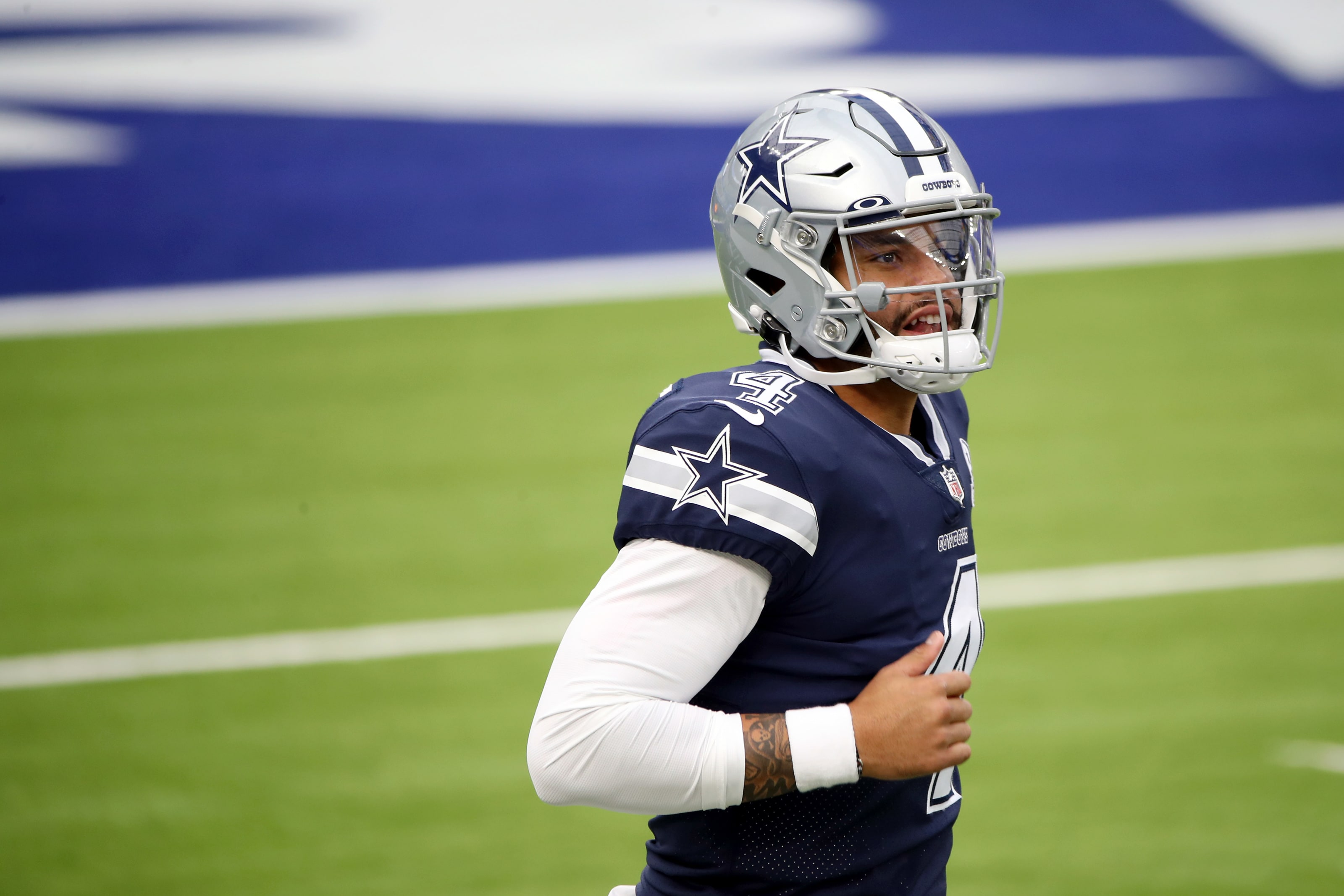 Cowboys land Dak a weapon in 2021 NFL Mock Draft