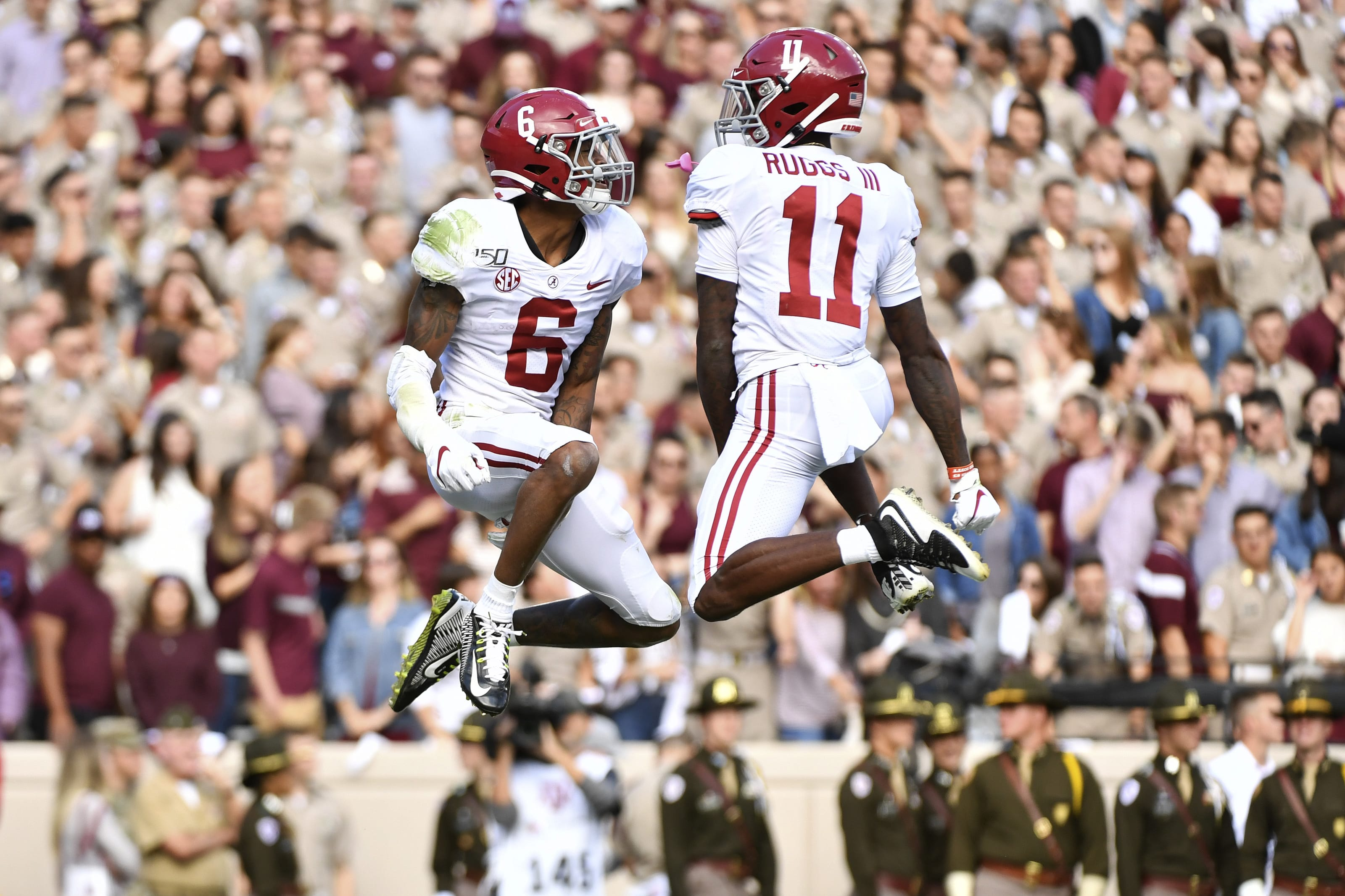 Alabama Football producing three top WR prospects in 2020 ...