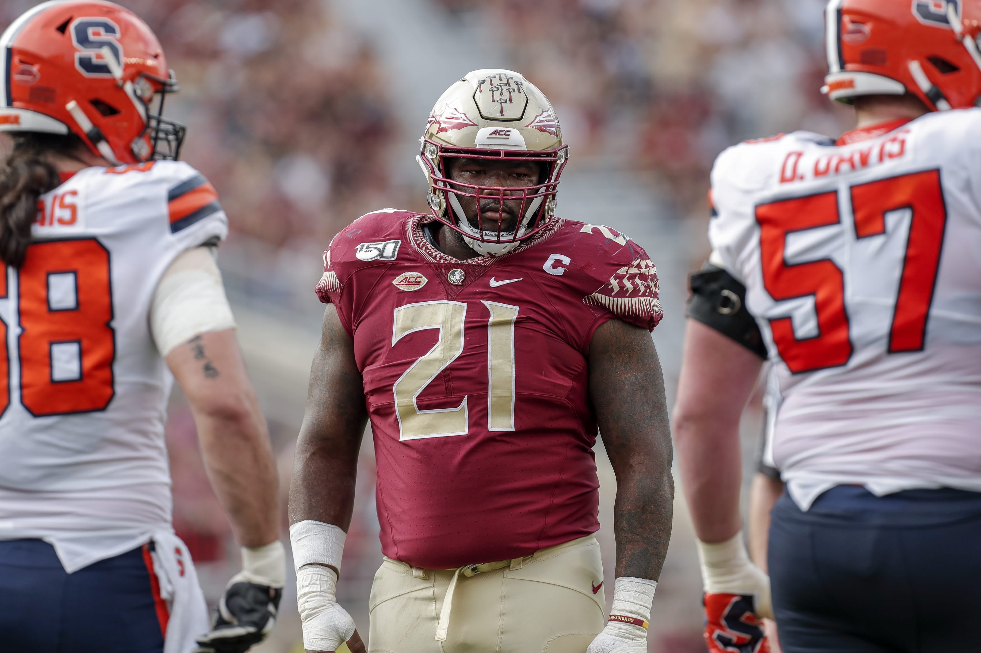 2021 nfl draft scouting report marvin wilson is a top