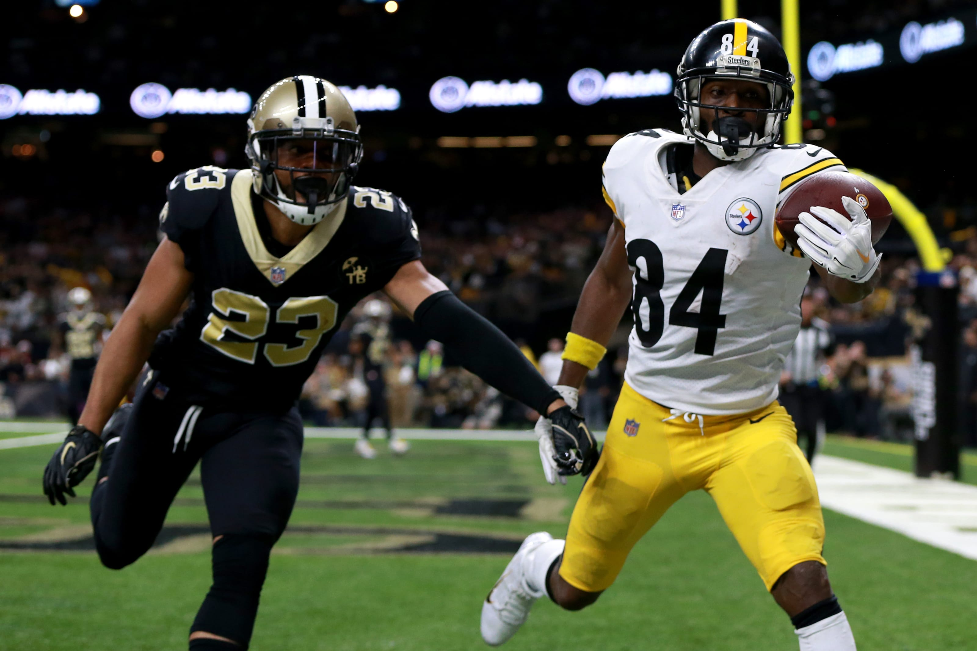 AFC North: Pittsburgh Steelers Wide Receivers