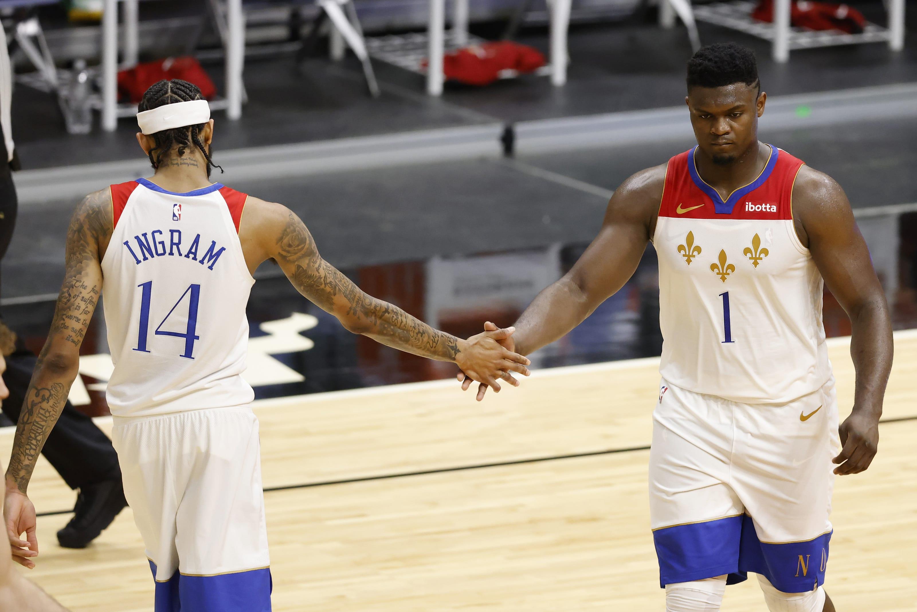New Orleans Pelicans: Brandon Ingram, Zion Williamson