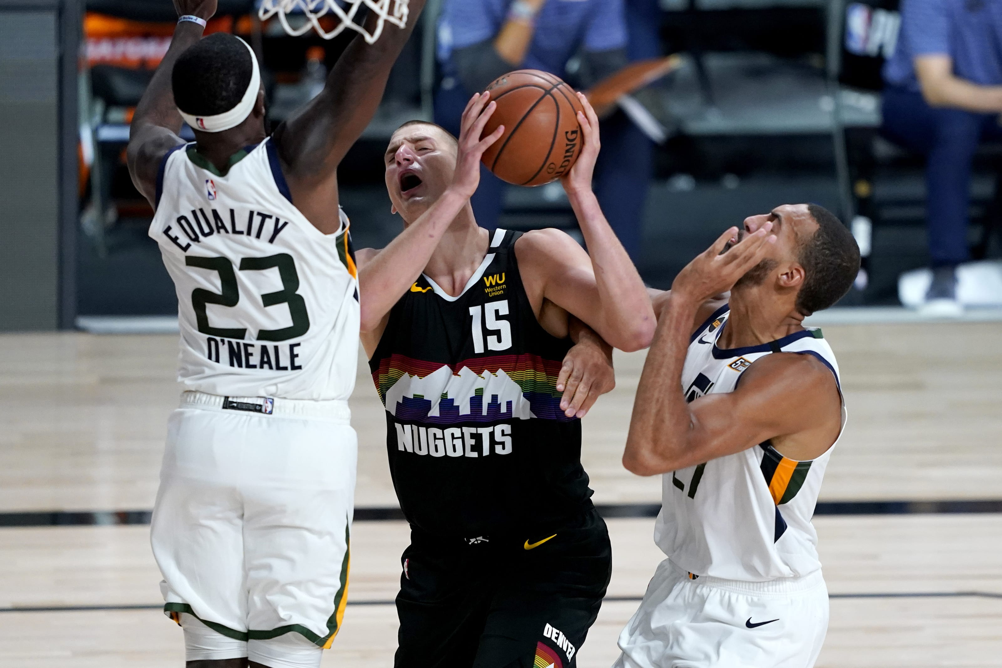 NBA playoffs: 3 takes from the Denver Nuggets and Utah Jazz in Game 2