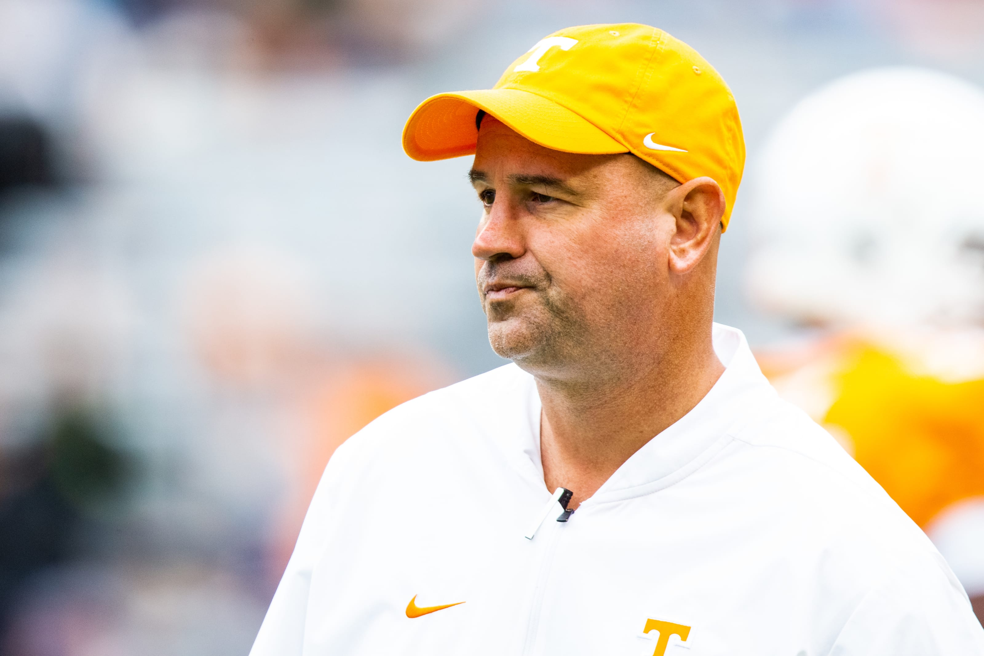 Head coach Jeremy Pruitt during SEC football game.