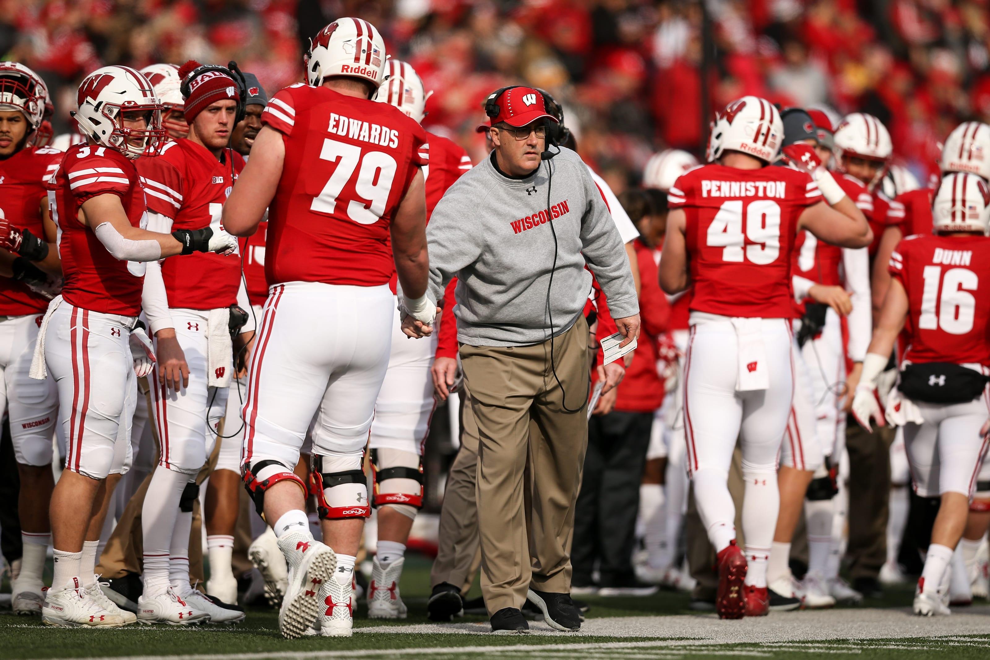 Wisconsin football - David Edwards