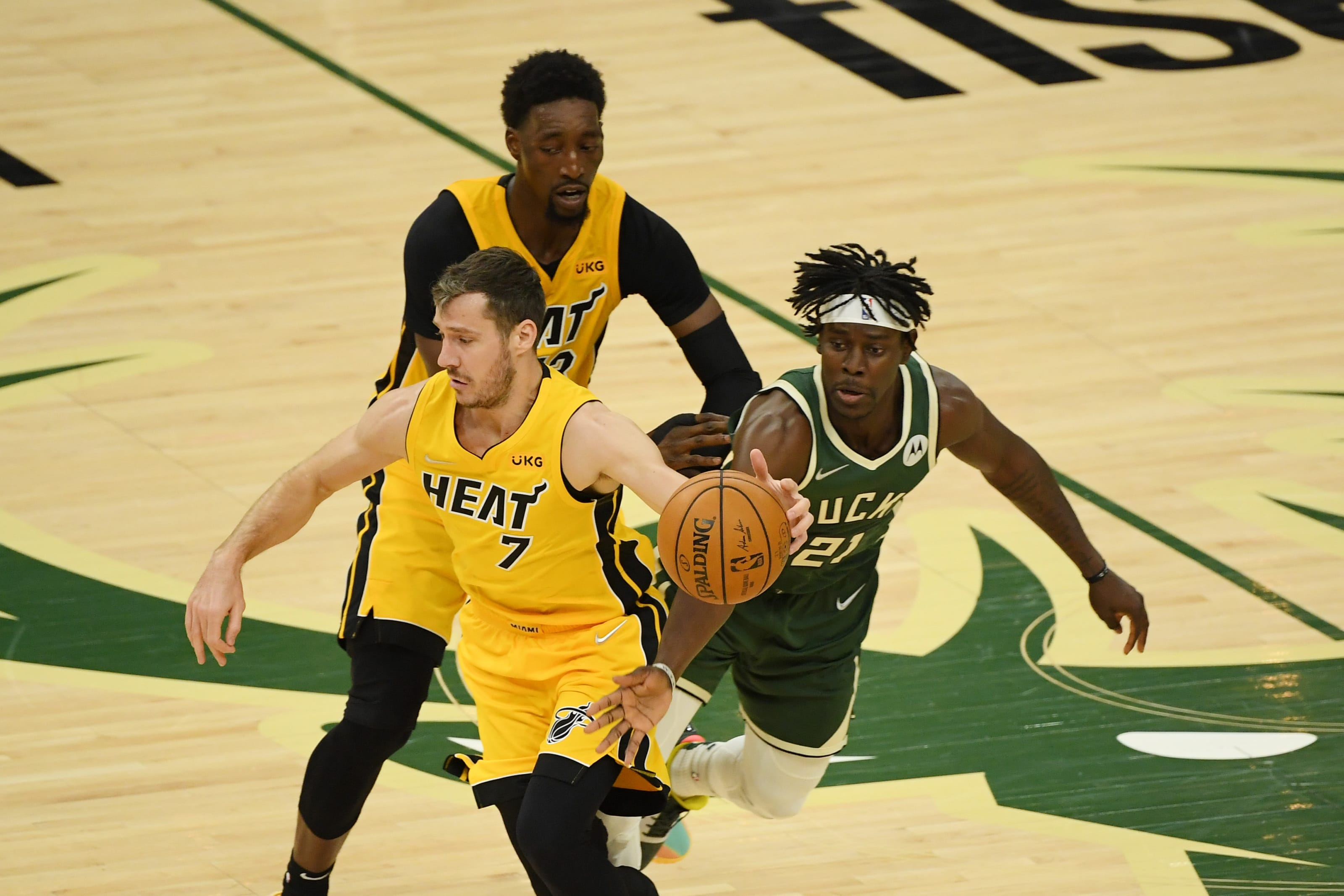 Milwaukee Bucks 3 Players They Must Contain In Game 2 With Miami Heat