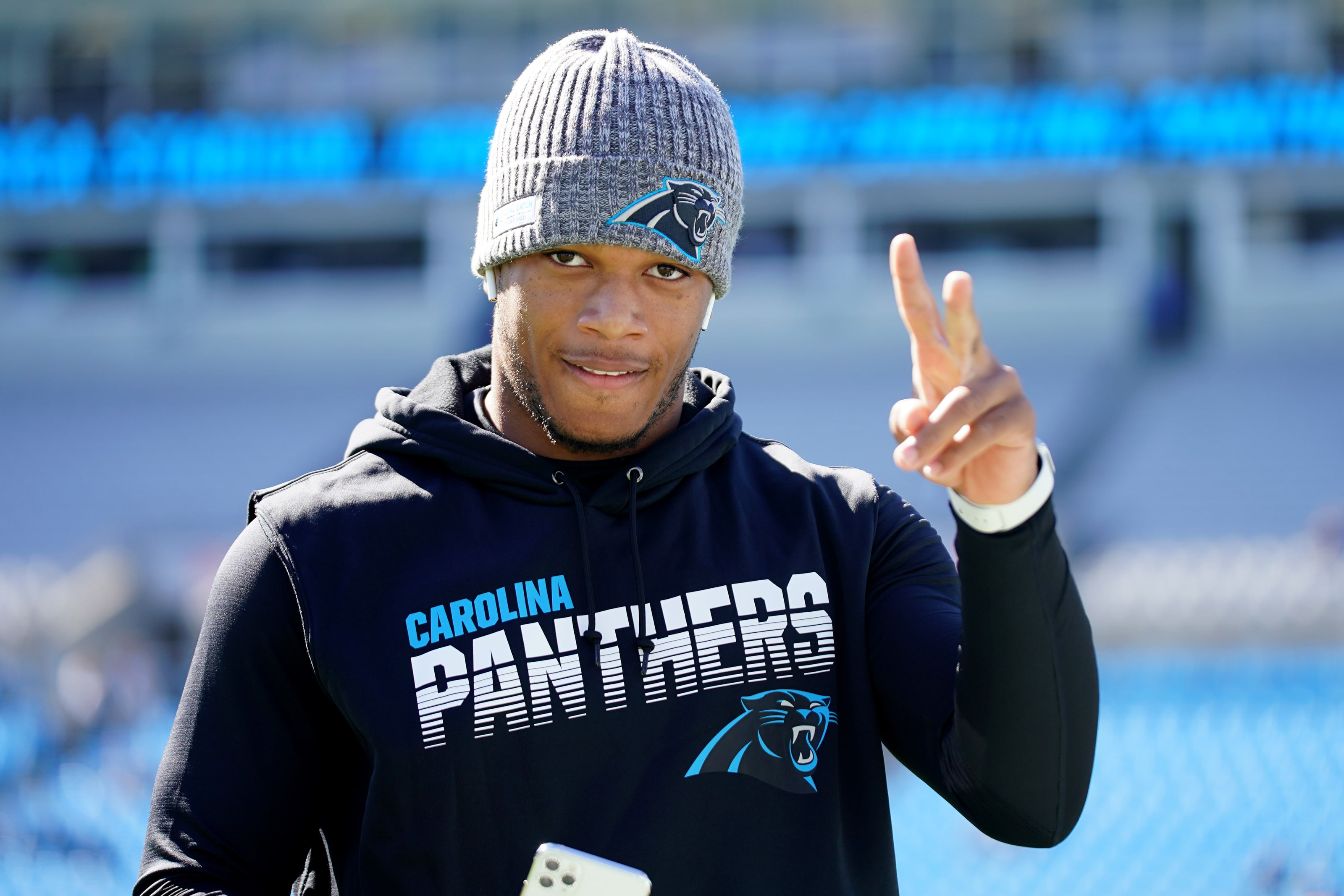 D.J. Moore, Panthers depth chart