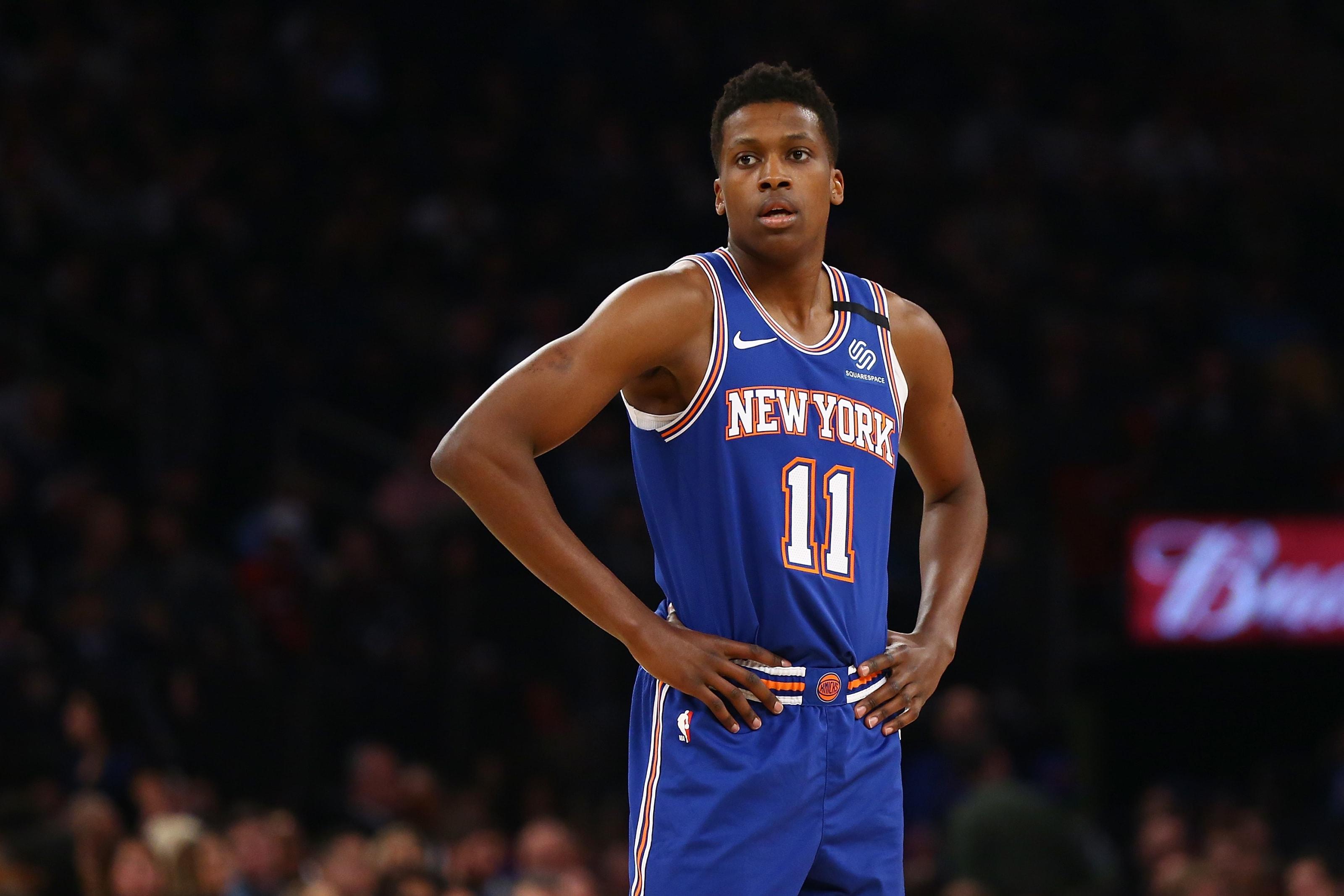 NY Knicks, Frank Ntilikina