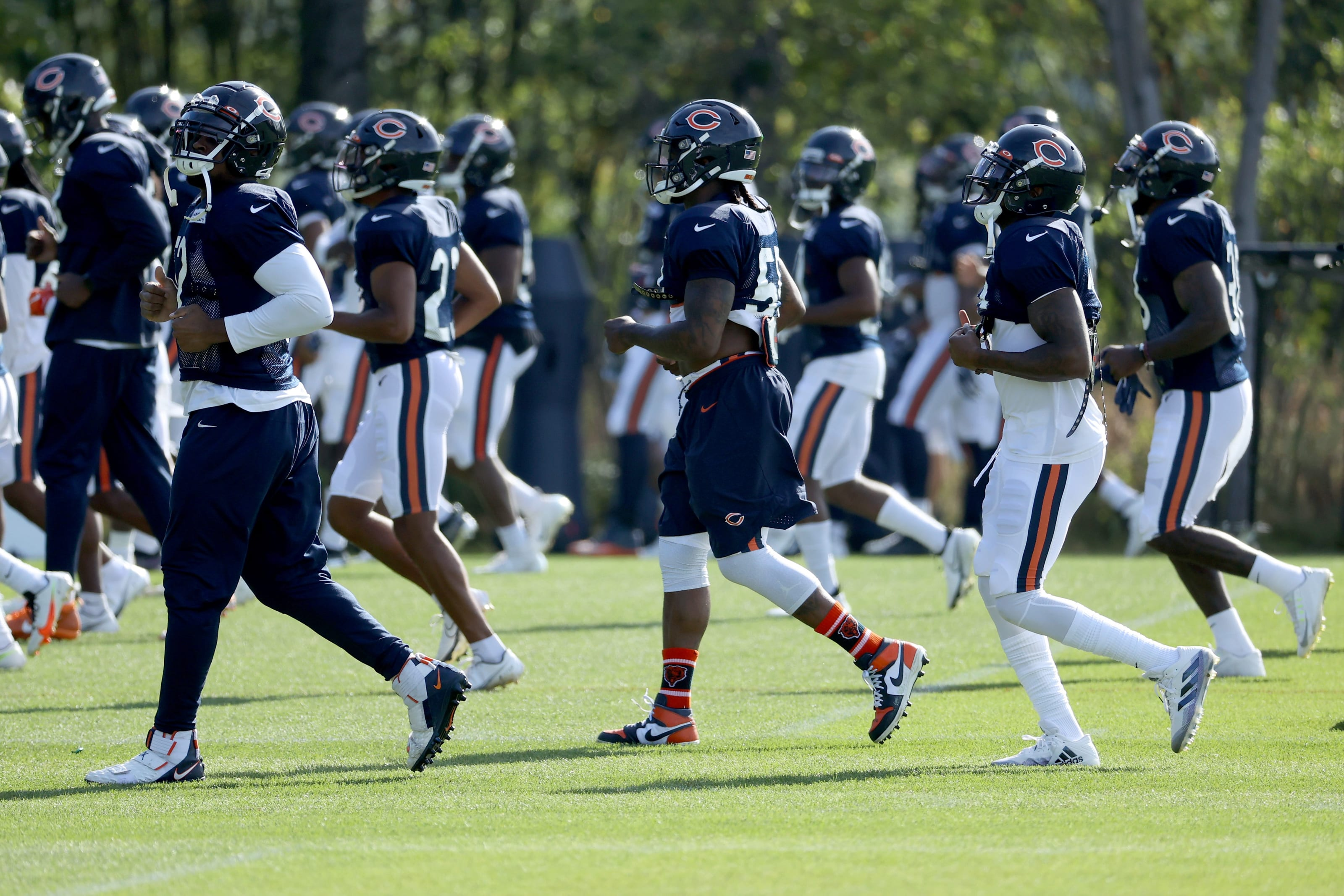 Chicago Bears, Depth Chart