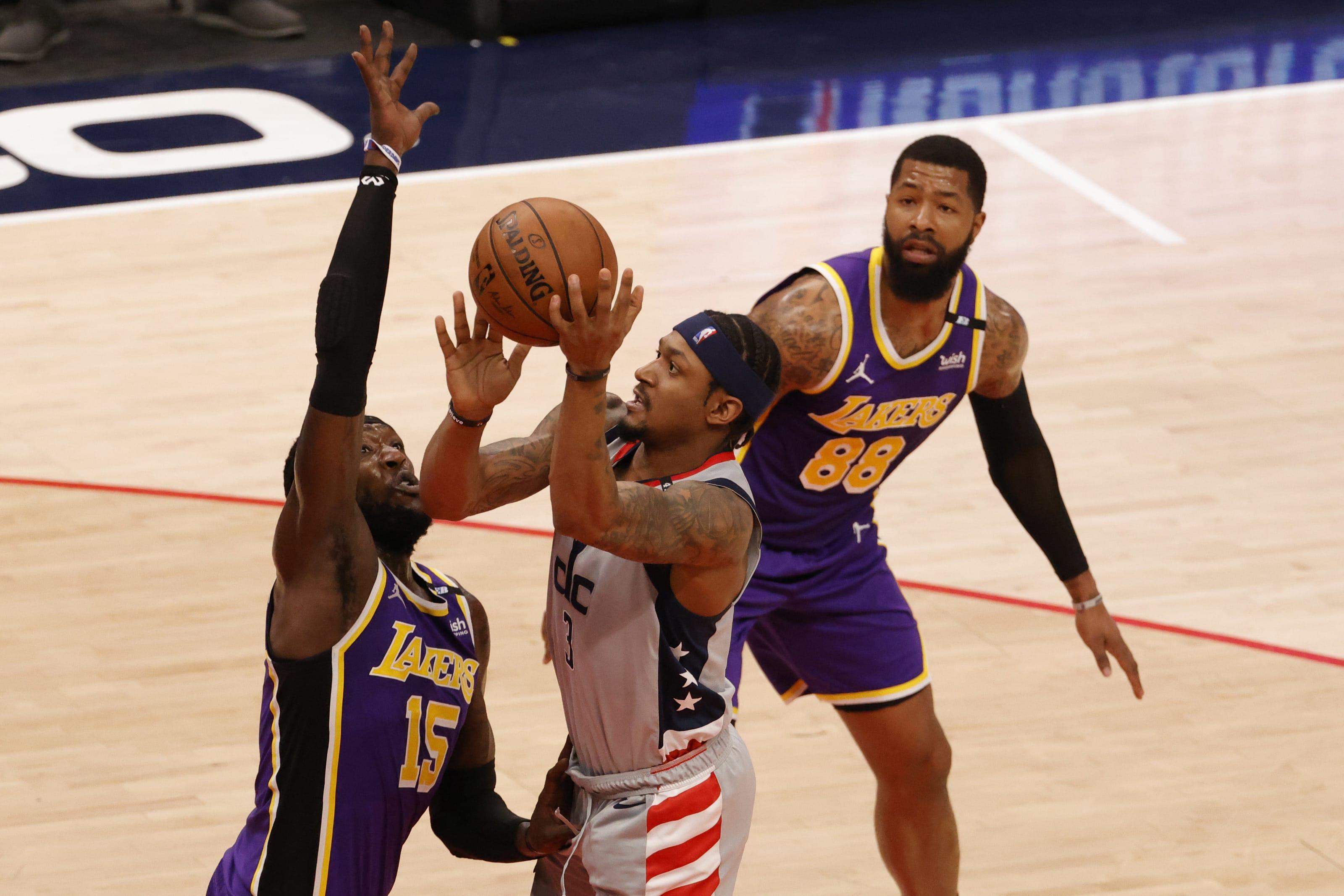 Bradley Beal, Washington Wizards, Los Angeles Lakers