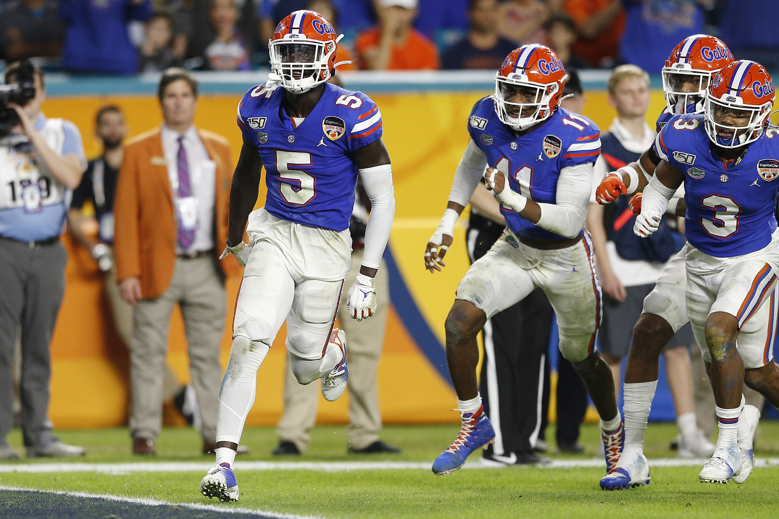 Florida Football Pre Season Gators Defensive Depth Chart Page 7