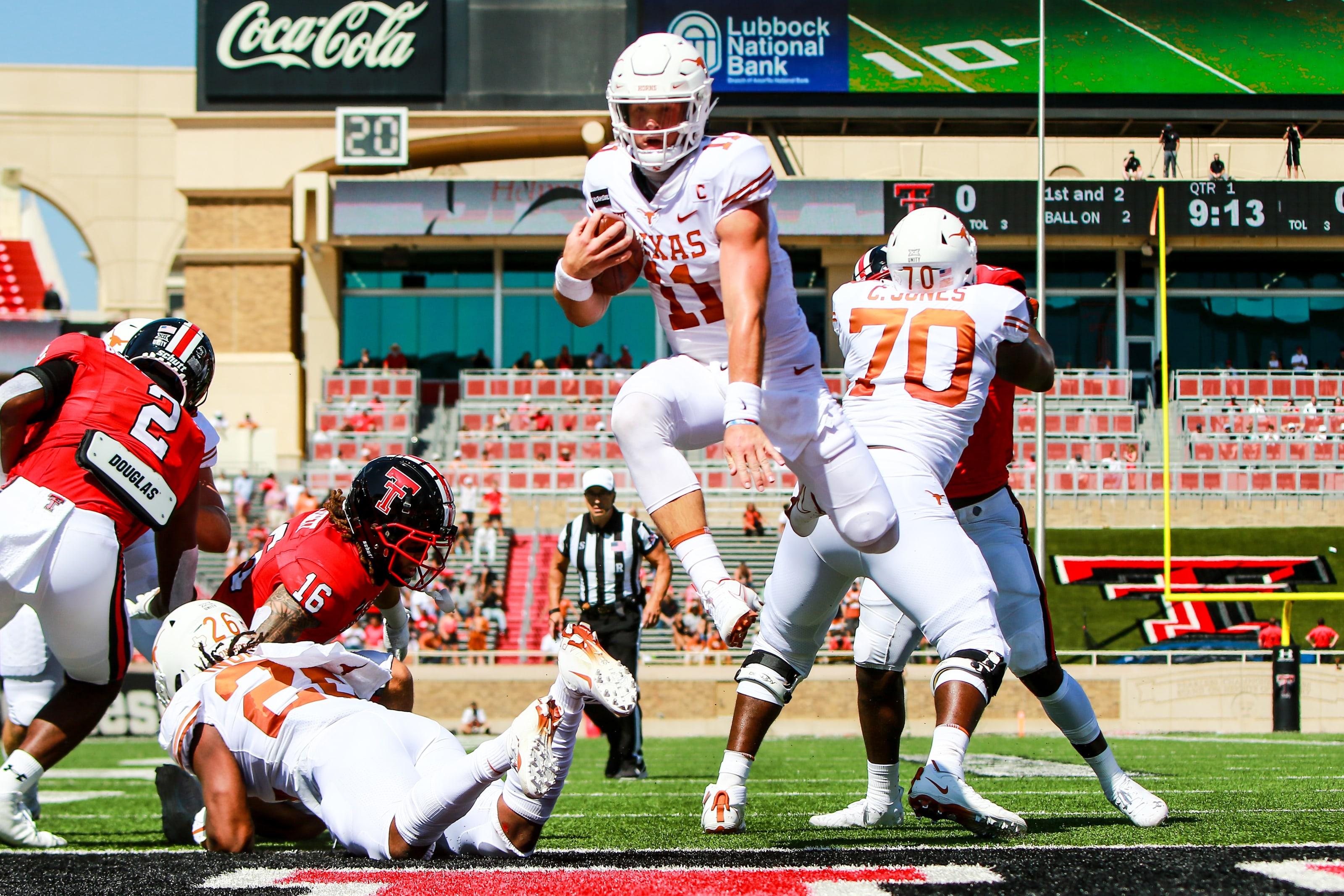 Texas Football 3 Takeaways From Unbelievable Win Vs Texas Tech