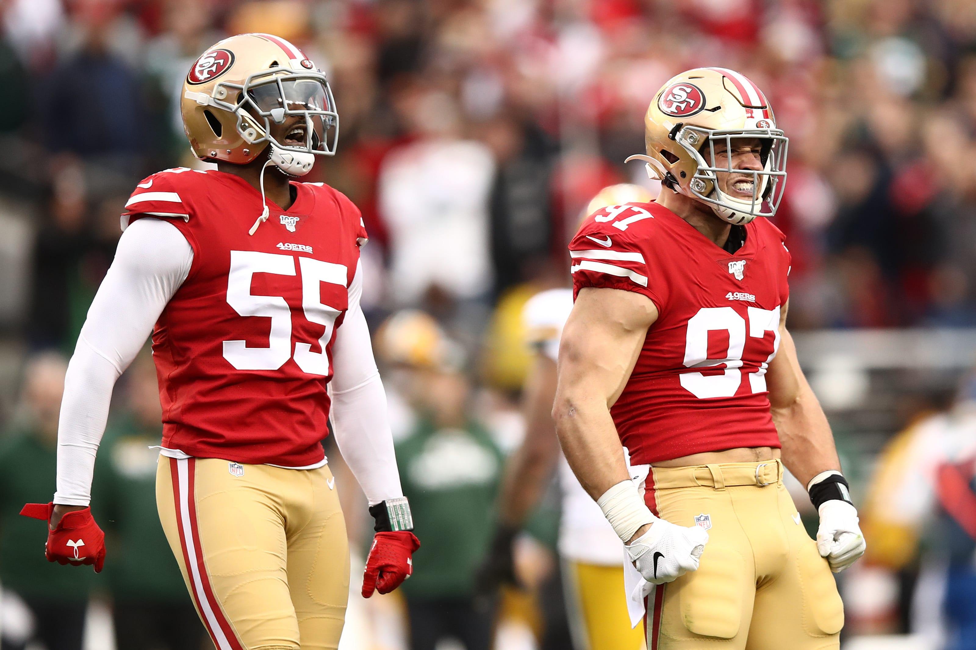 Dee Ford, Nick Bosa, 49ers
