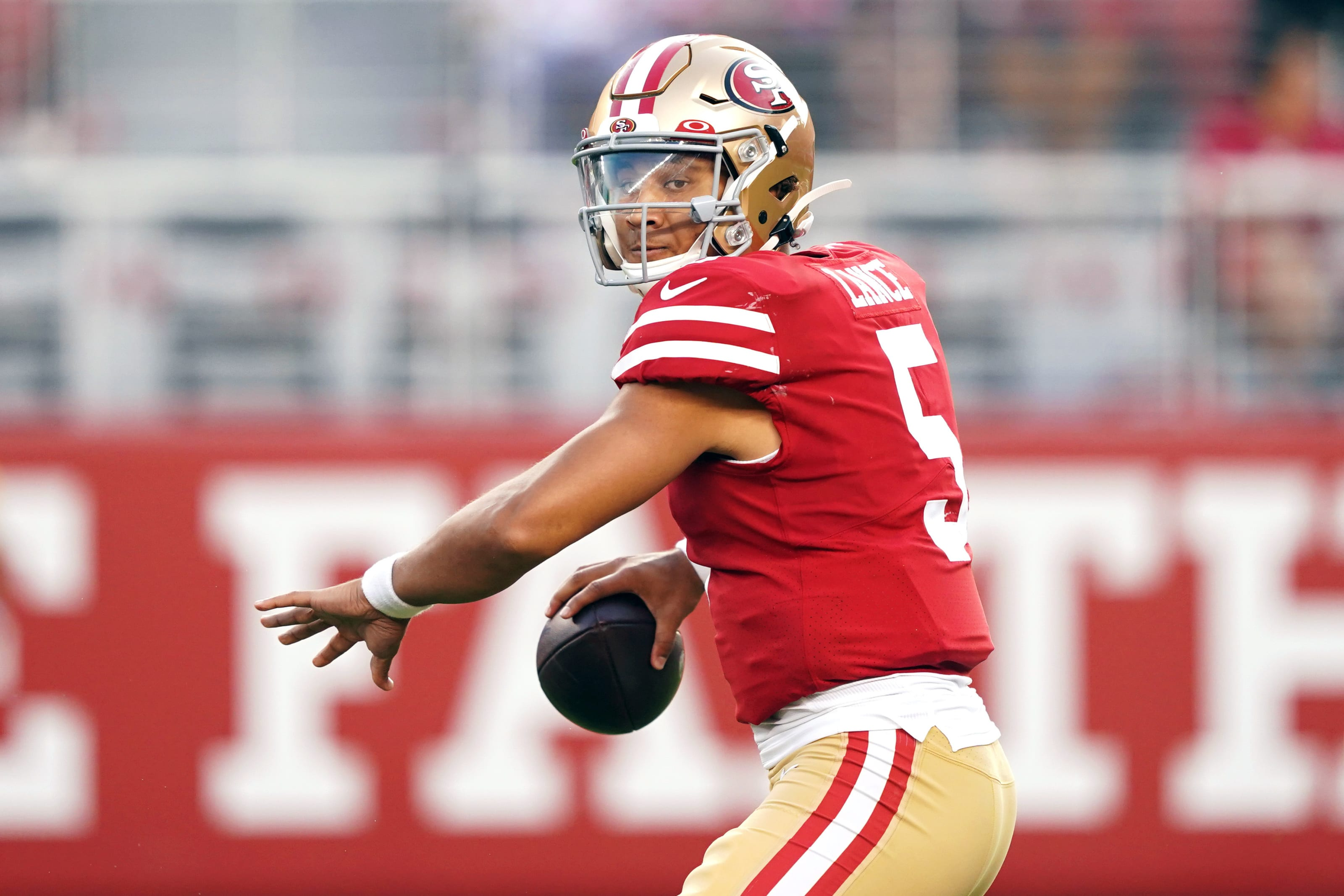 Trey Lance, San Francisco 49ers