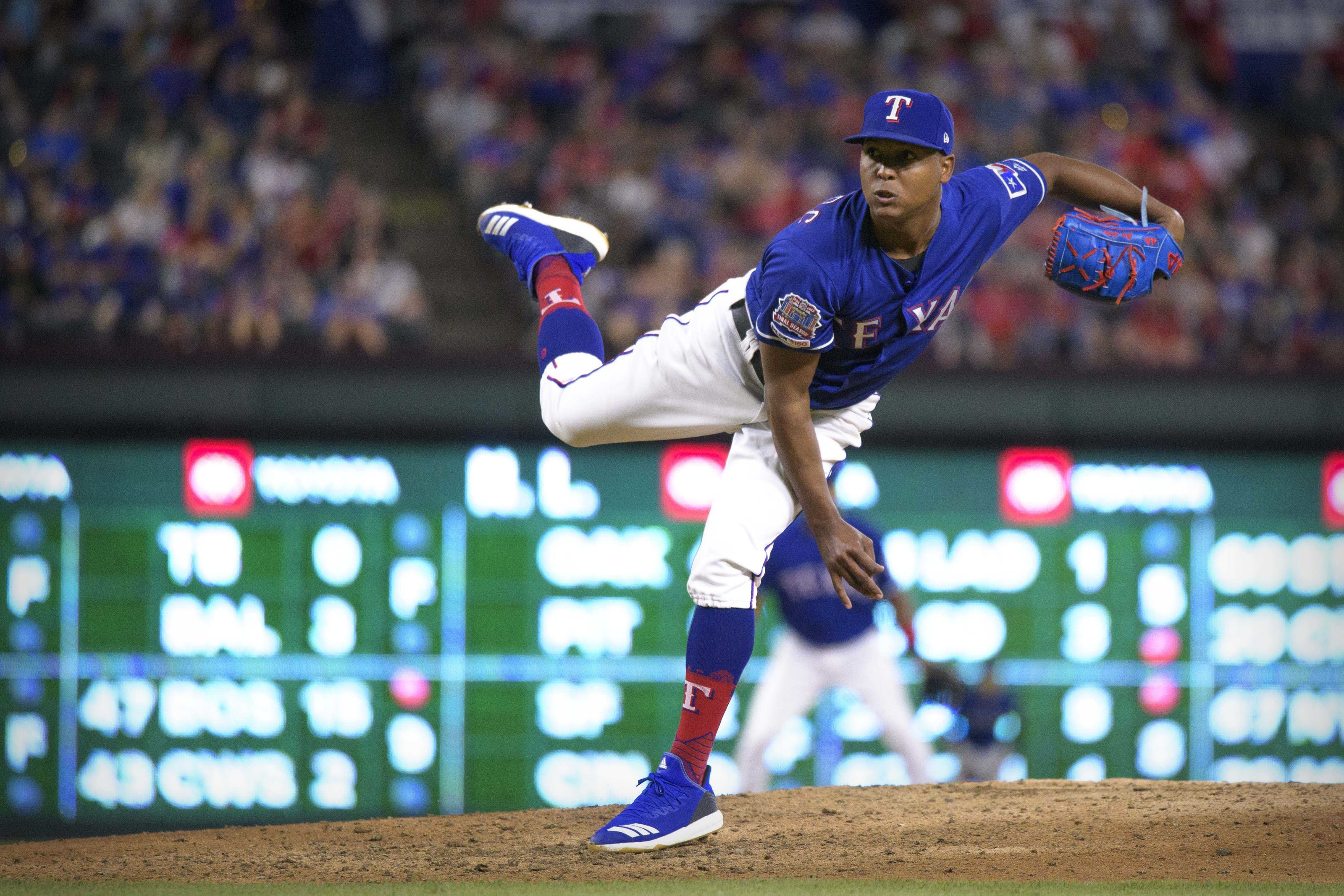 Jose Leclerc could be out with the Texas Rangers