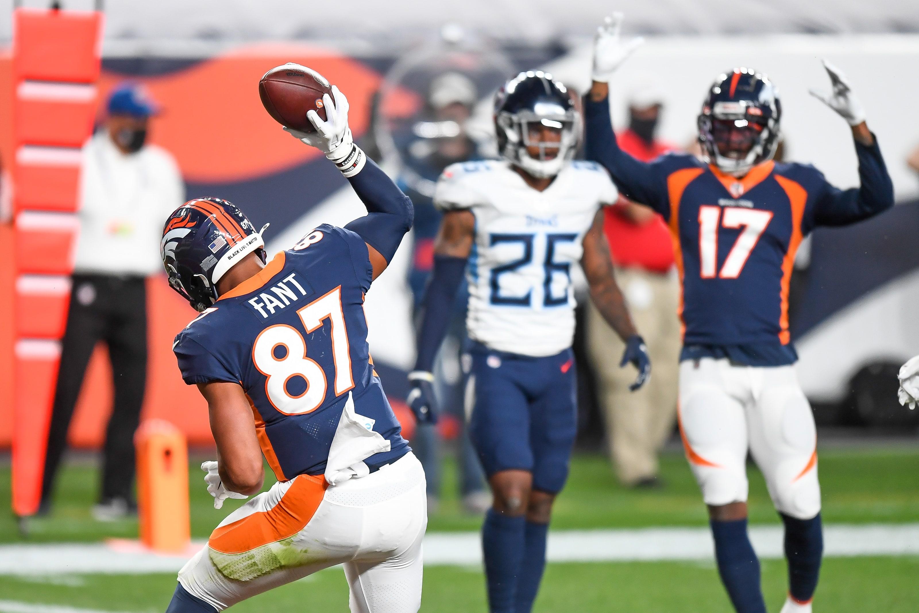 Denver Broncos, Noah Fant