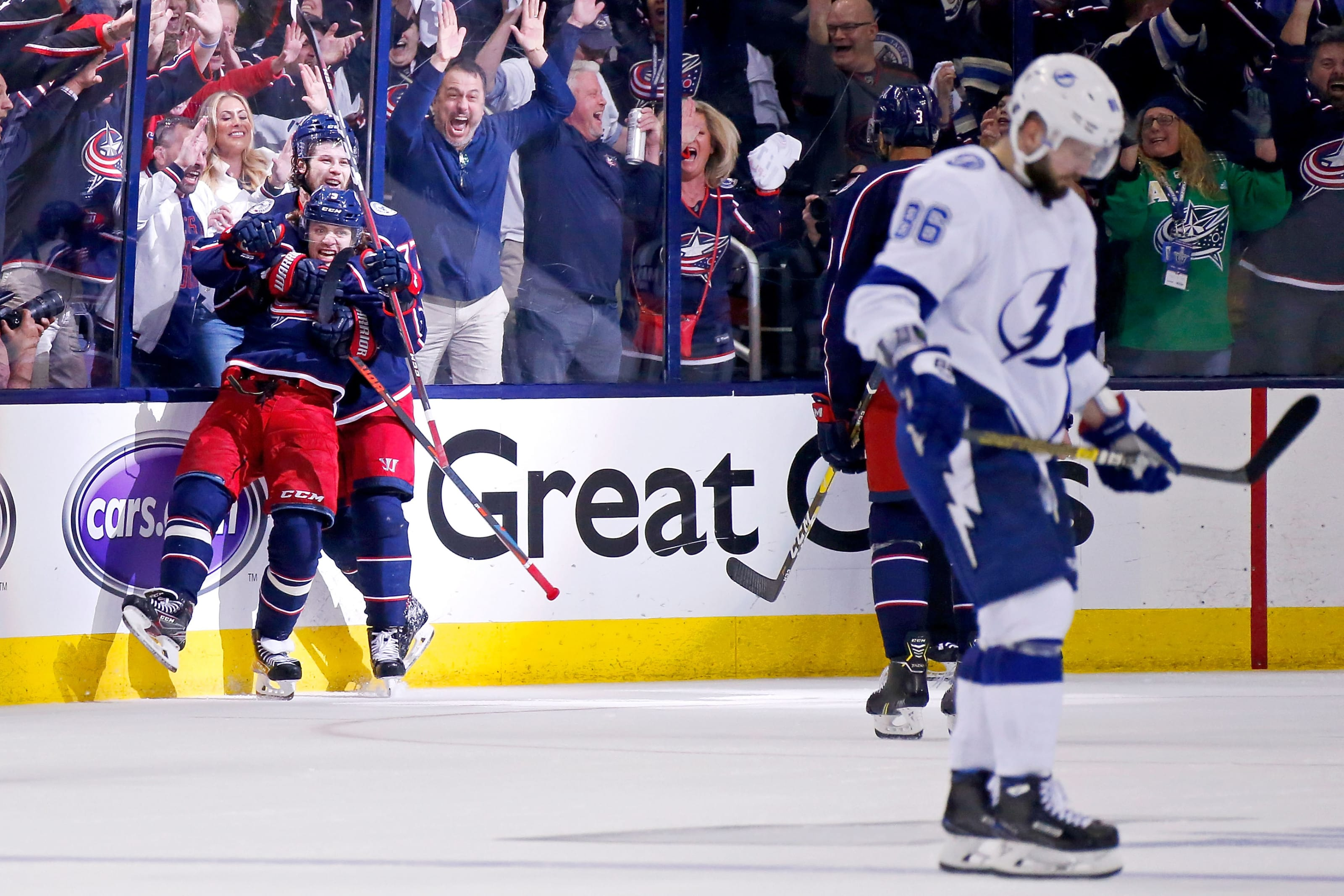 stanley cup playoffs, blue jackets, tampa bay lightning
