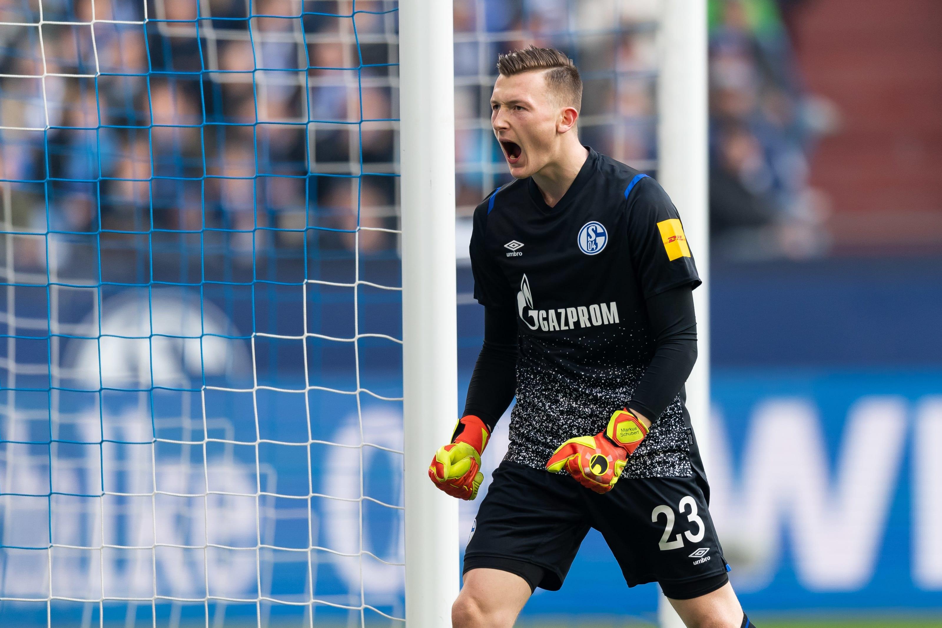 Schalke GK Markus Schubert