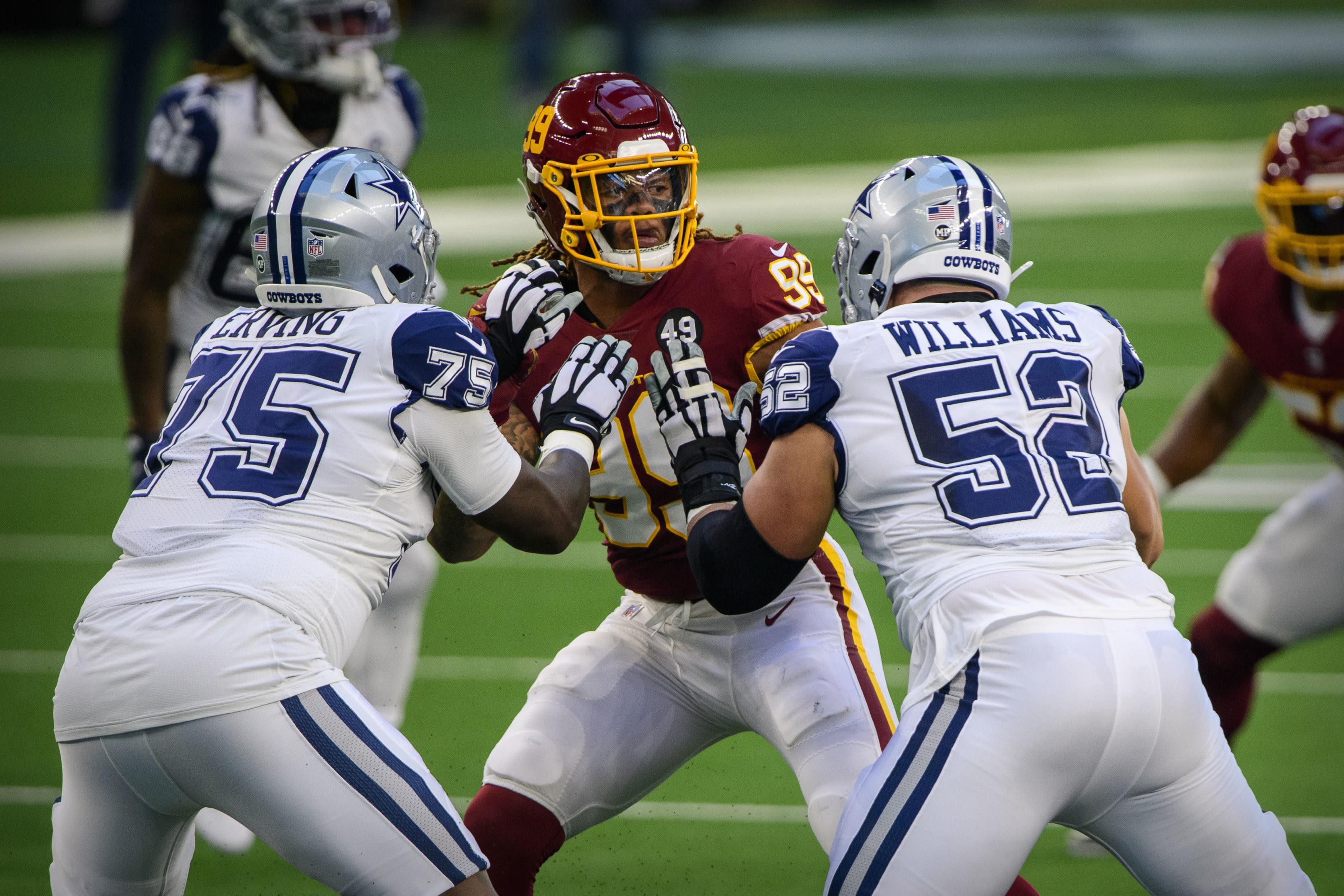 Cameron Erving, Connor Williams, Dallas Cowboys