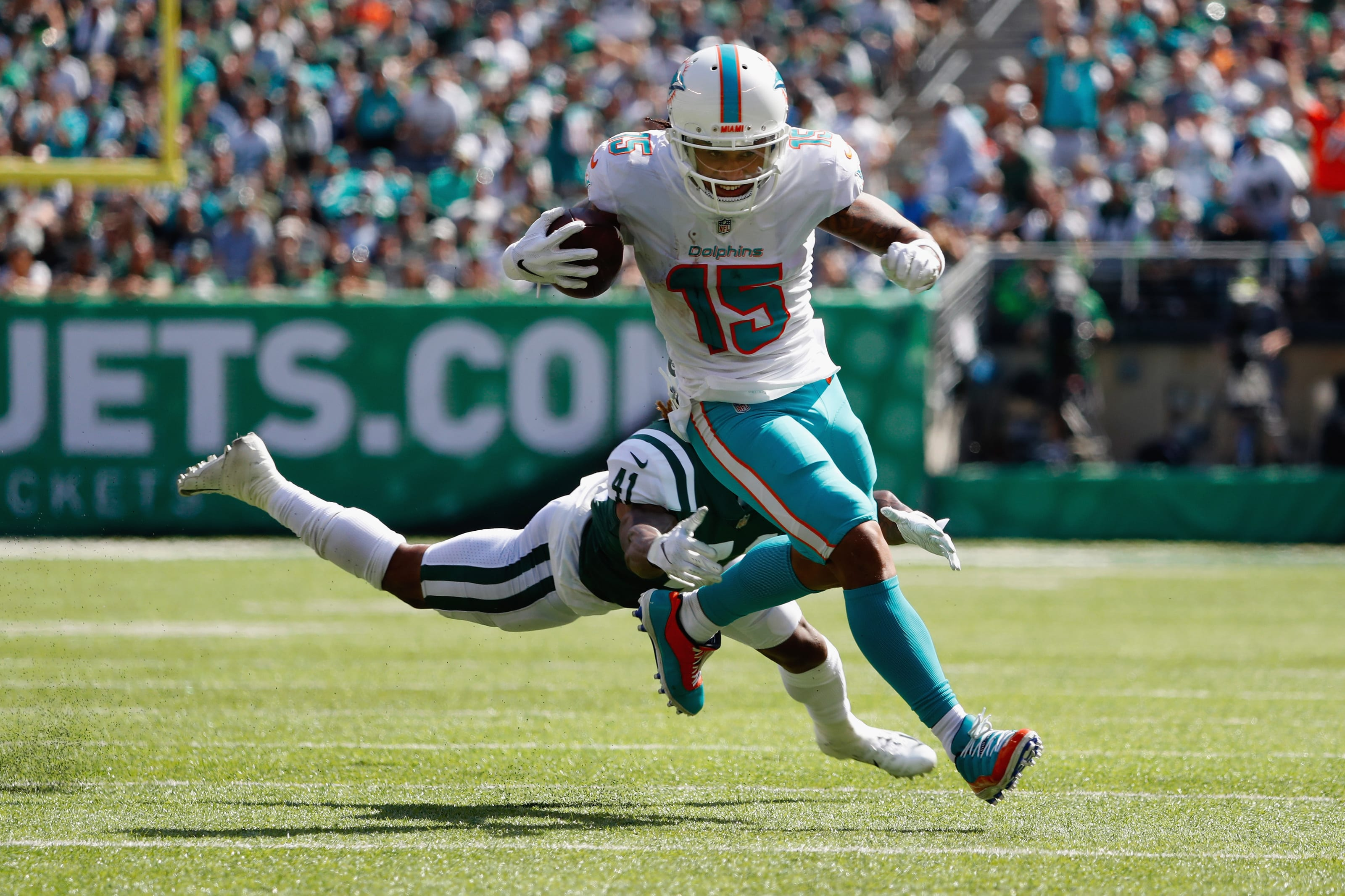 New England Patriots loss to Miami Dolphins dumps them