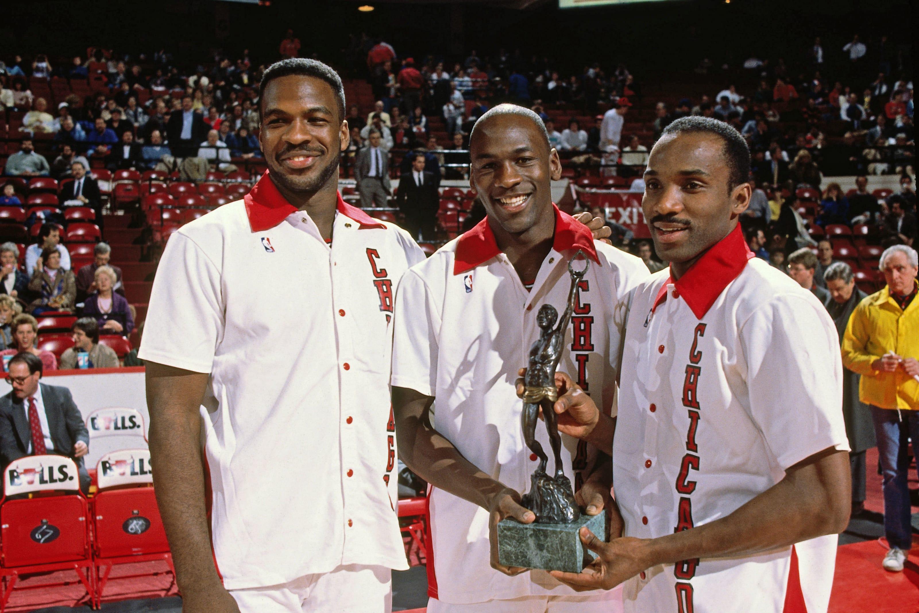 Charles Oakley, Michael Jordan, Chicago Bulls
