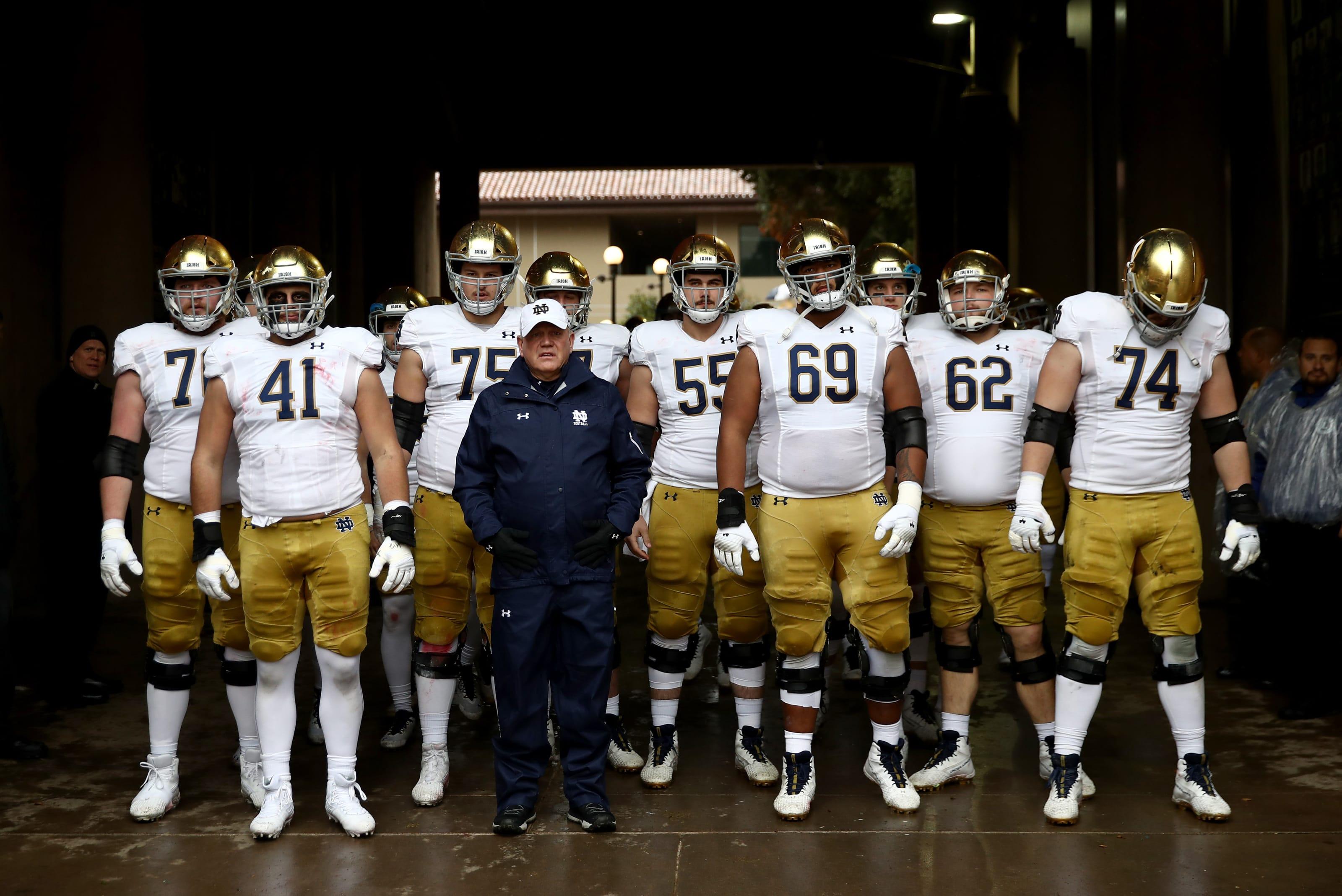 Notre Dame Football Was Bias A Factor In Final Irish Ranking