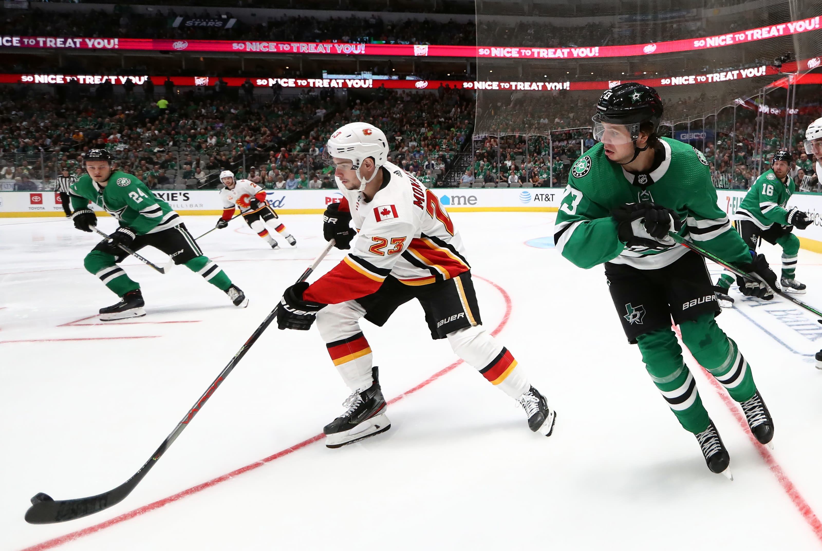 stanley cup playoffs, calgary flames, dallas stars