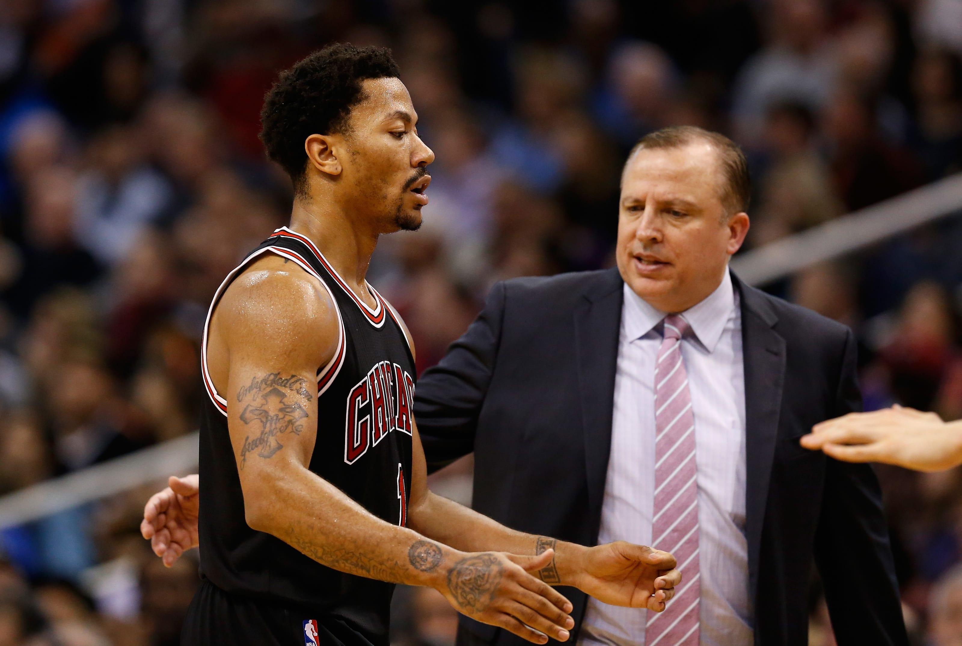 New York Knicks: The Derrick Rose trade should challenge Tom Thibodeau
