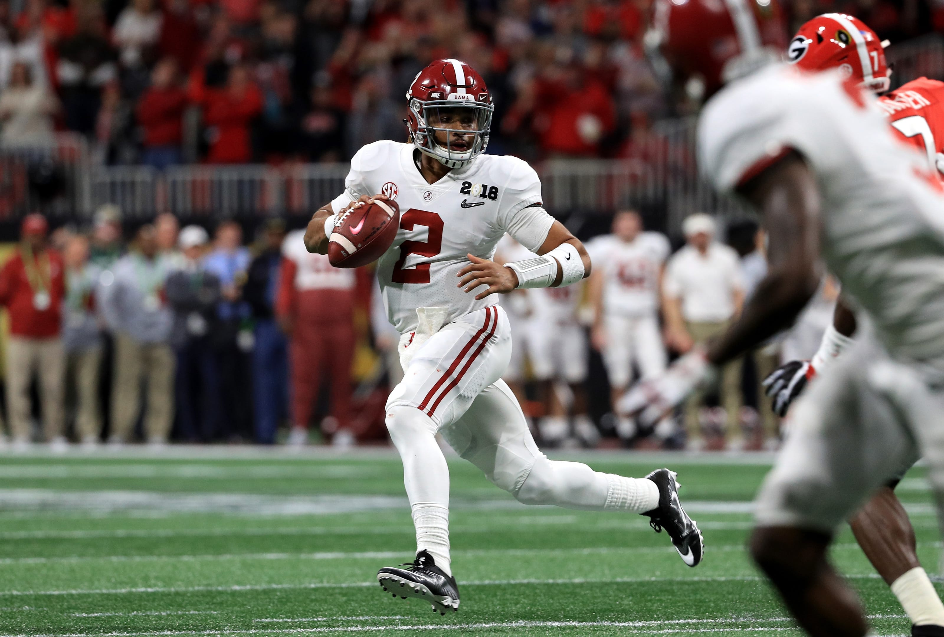 Alabama football QB, Jalen Hurts