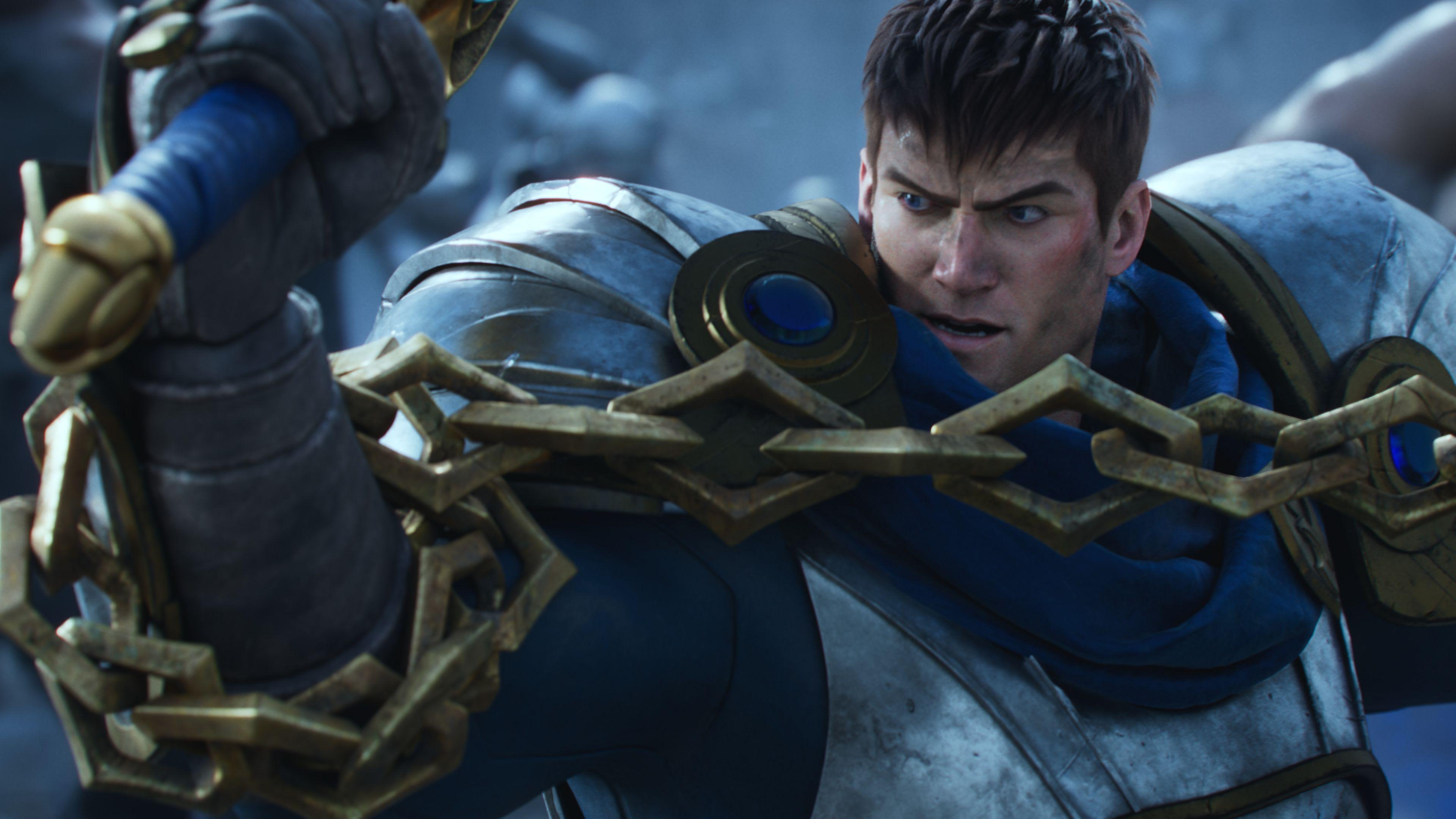 Garen, Warriors, League of Legends.