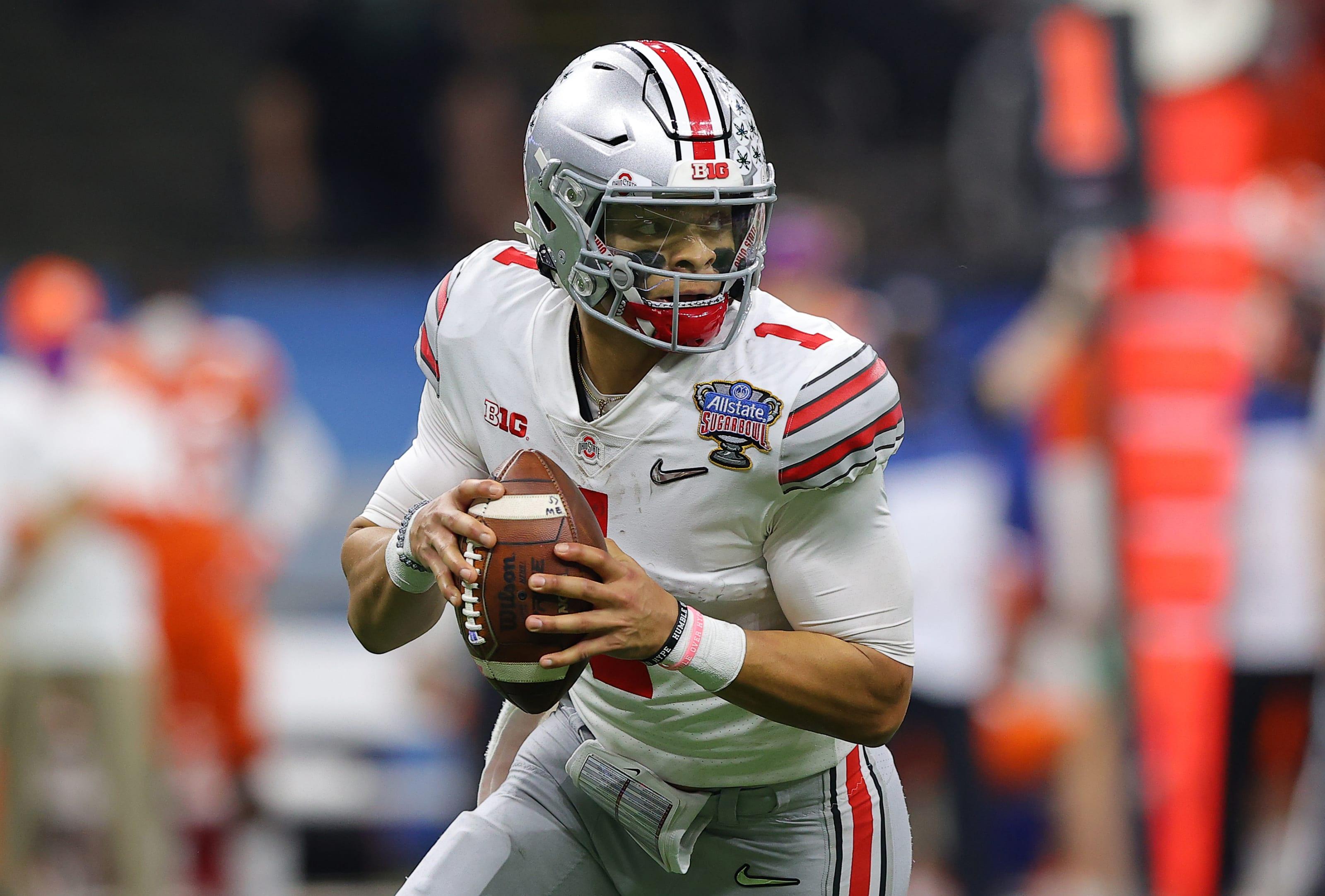 Justin Fields, New York Jets, 2021 NFL mock draft