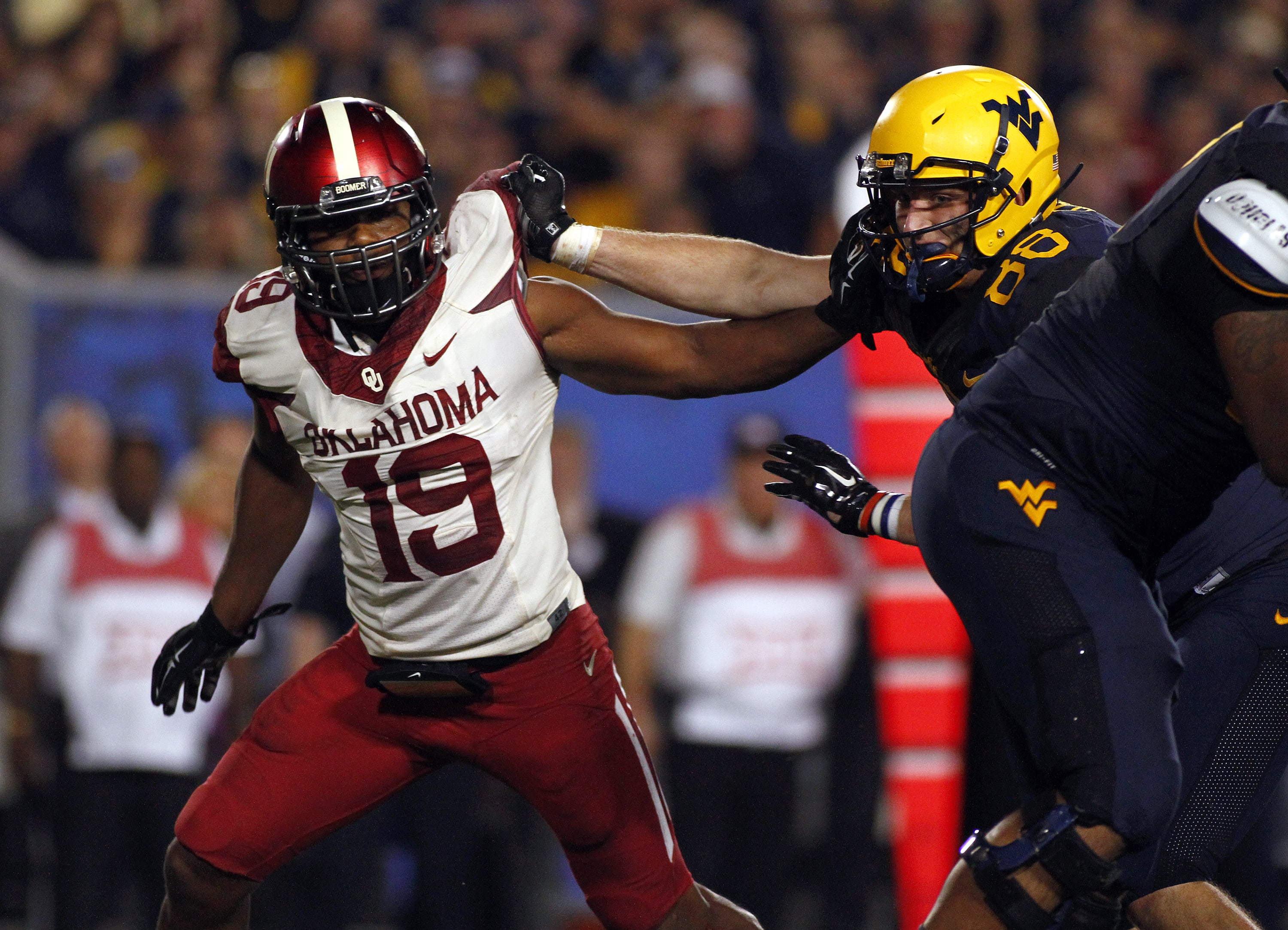 Four best games between Oklahoma and WVU football - Page 3