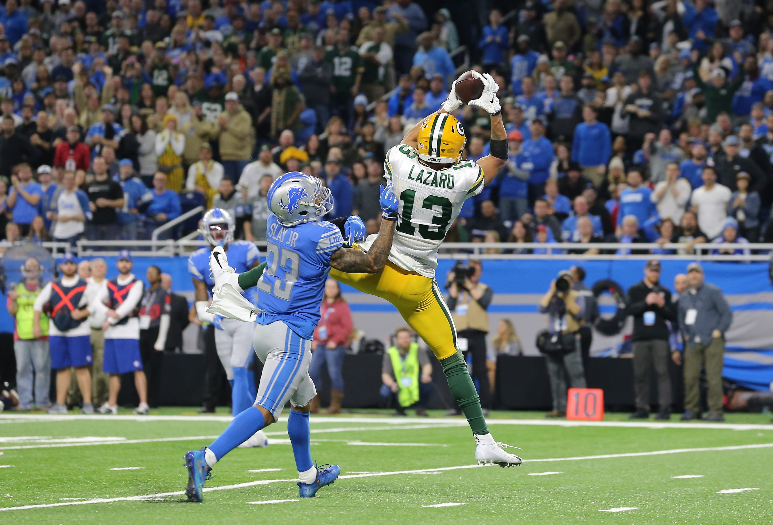 Green Bay Packers, Allen Lazard