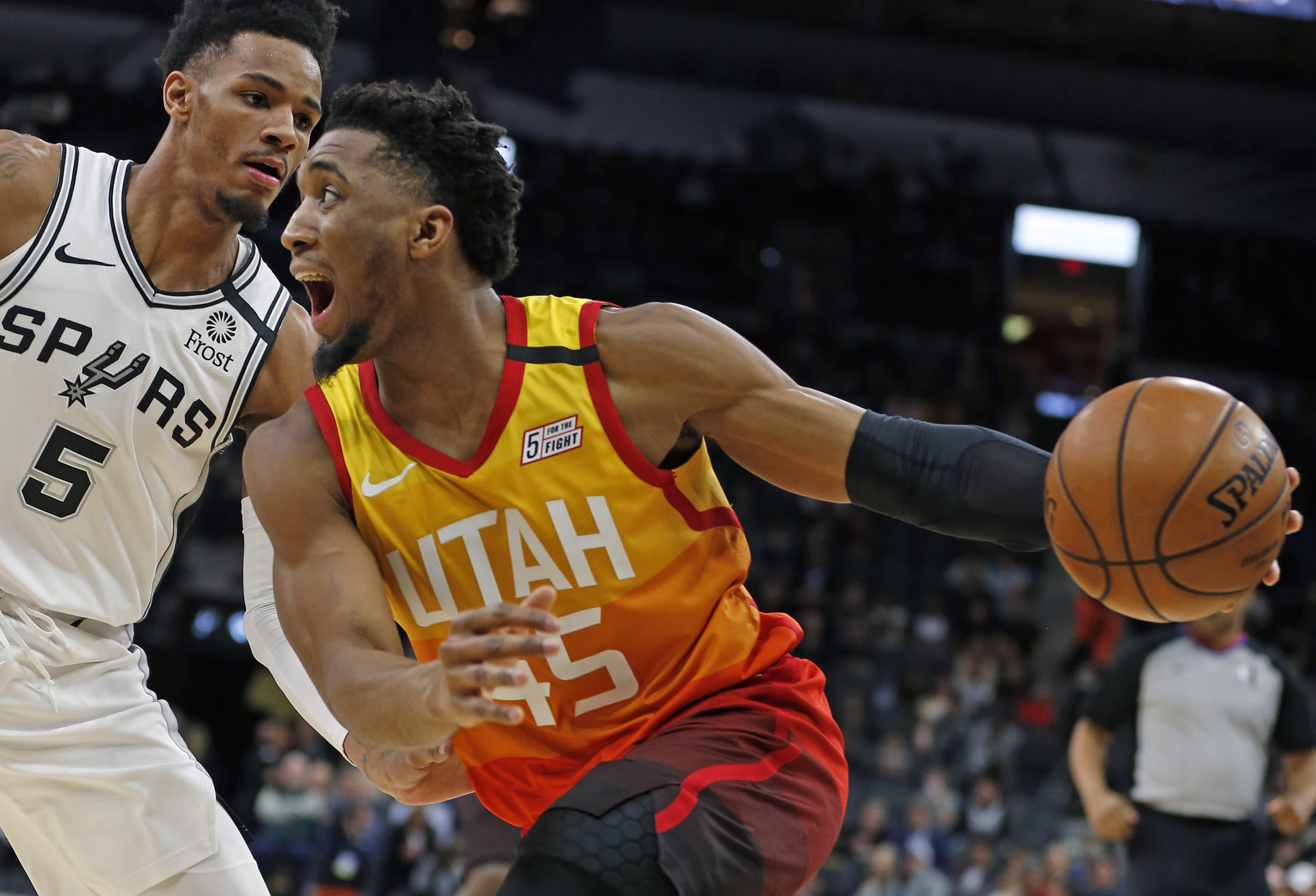 Utah Jazz Donovan Mitchell