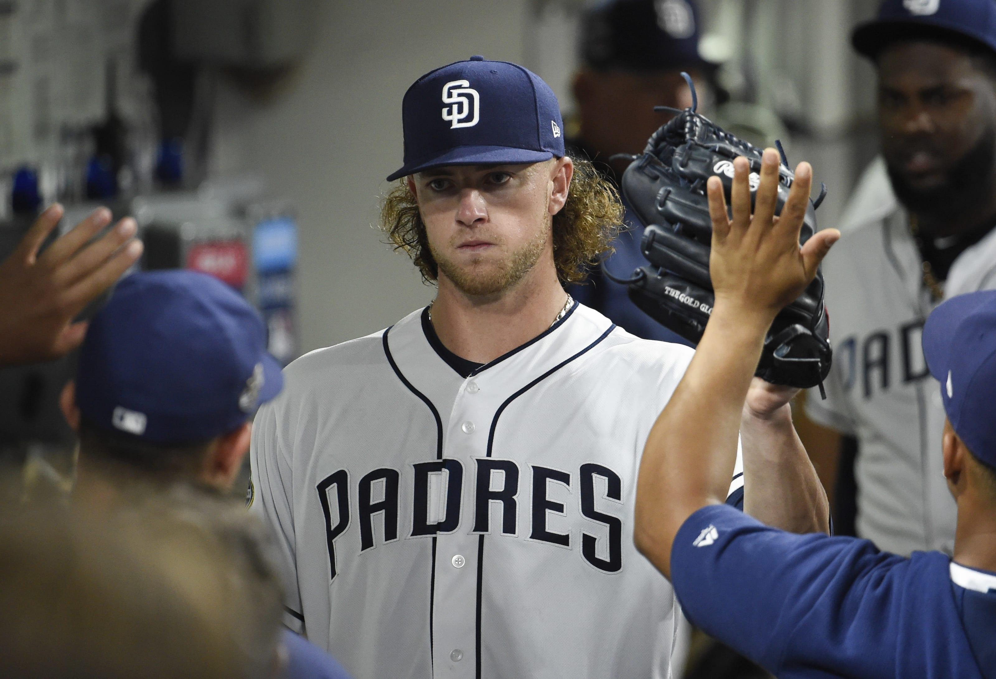 San Diego Padres Chris Paddack