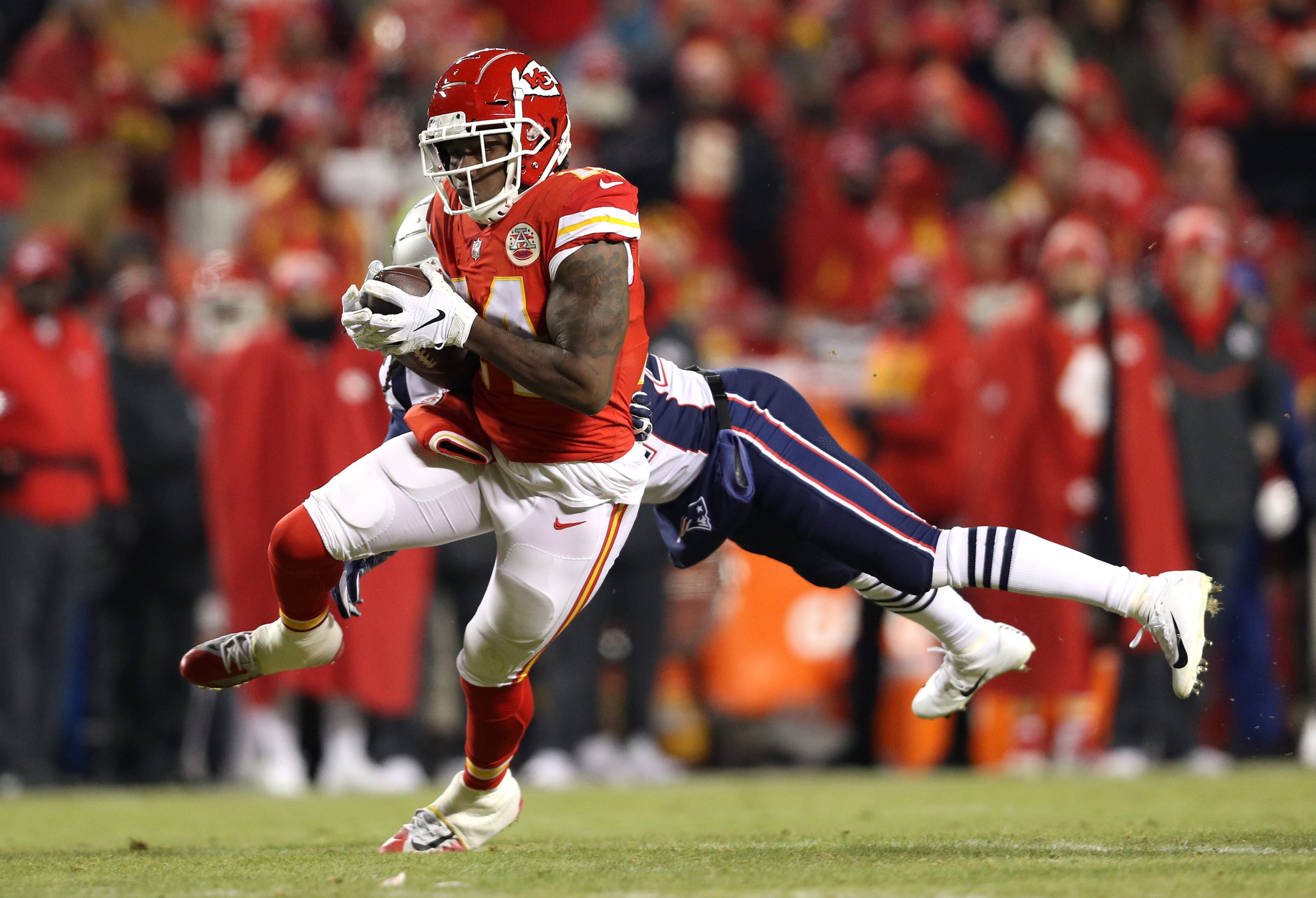 Kc Chiefs Good Bad Ugly Vs Patriots In Afc Championship Game
