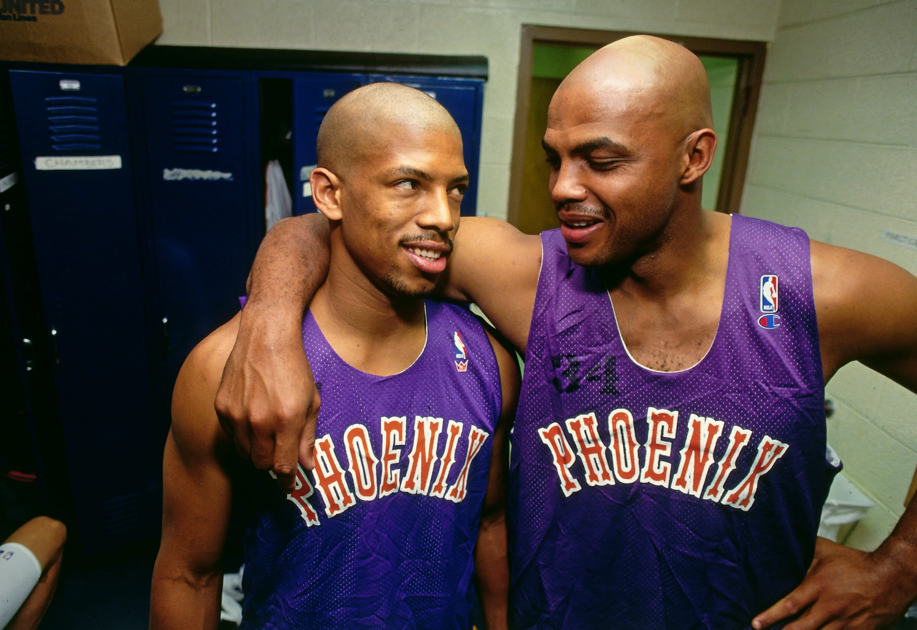 Kevin Johnson, Charles Barkley, Phoenix Suns
