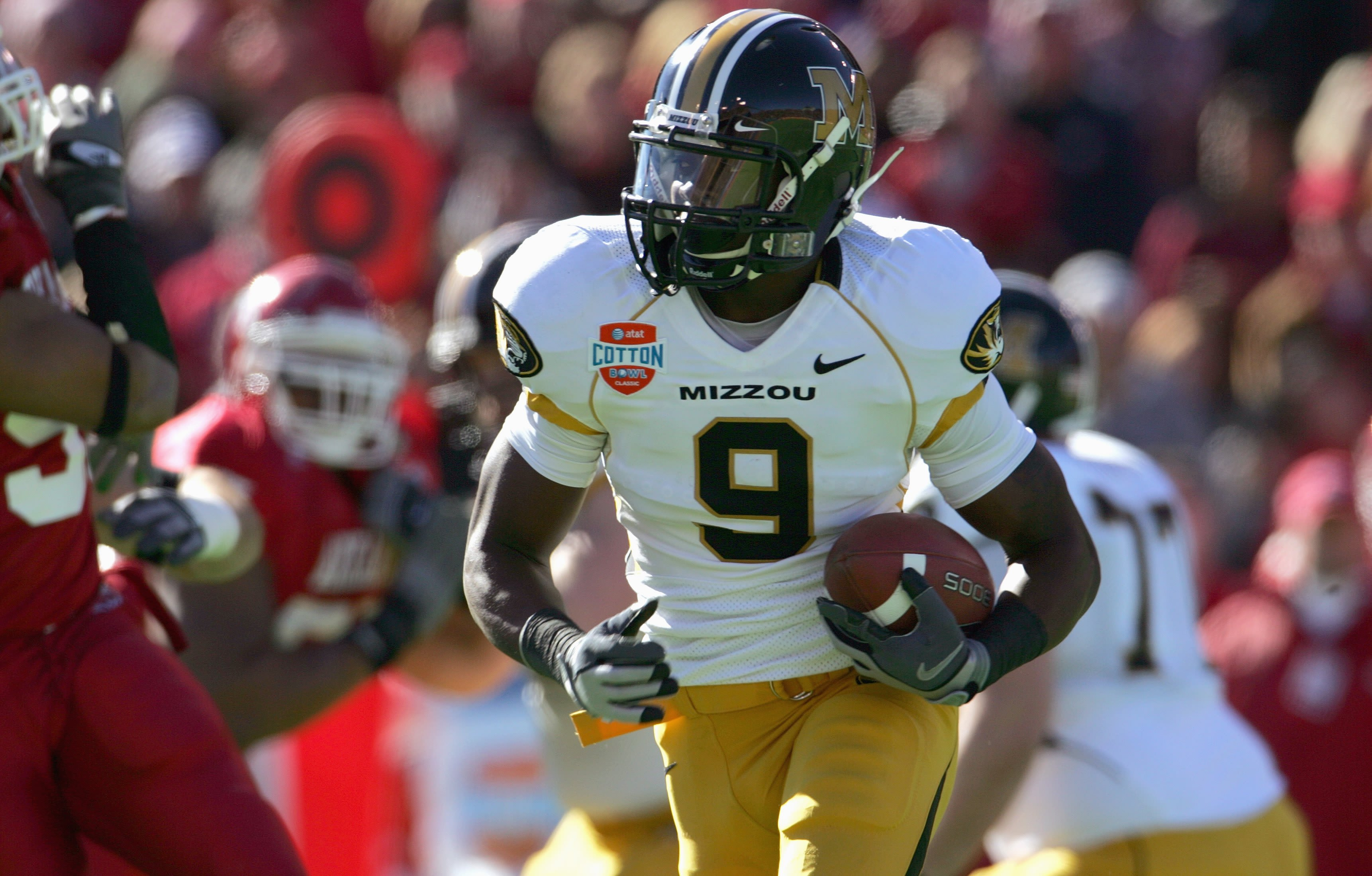 Mizzou football number one wide receiver Jeremy Maclin