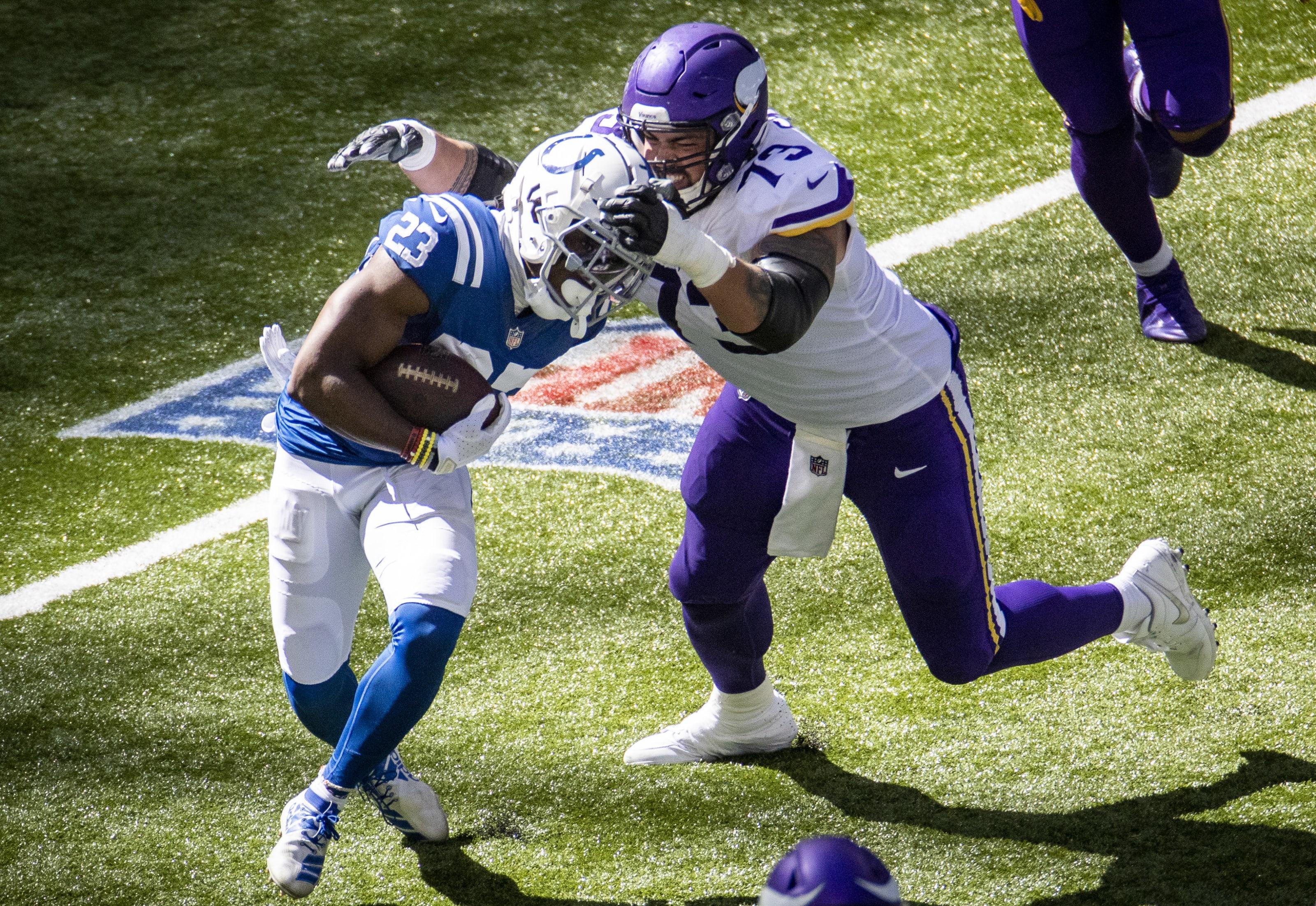 Dru Samia, Vikings, Minnesota Vikings