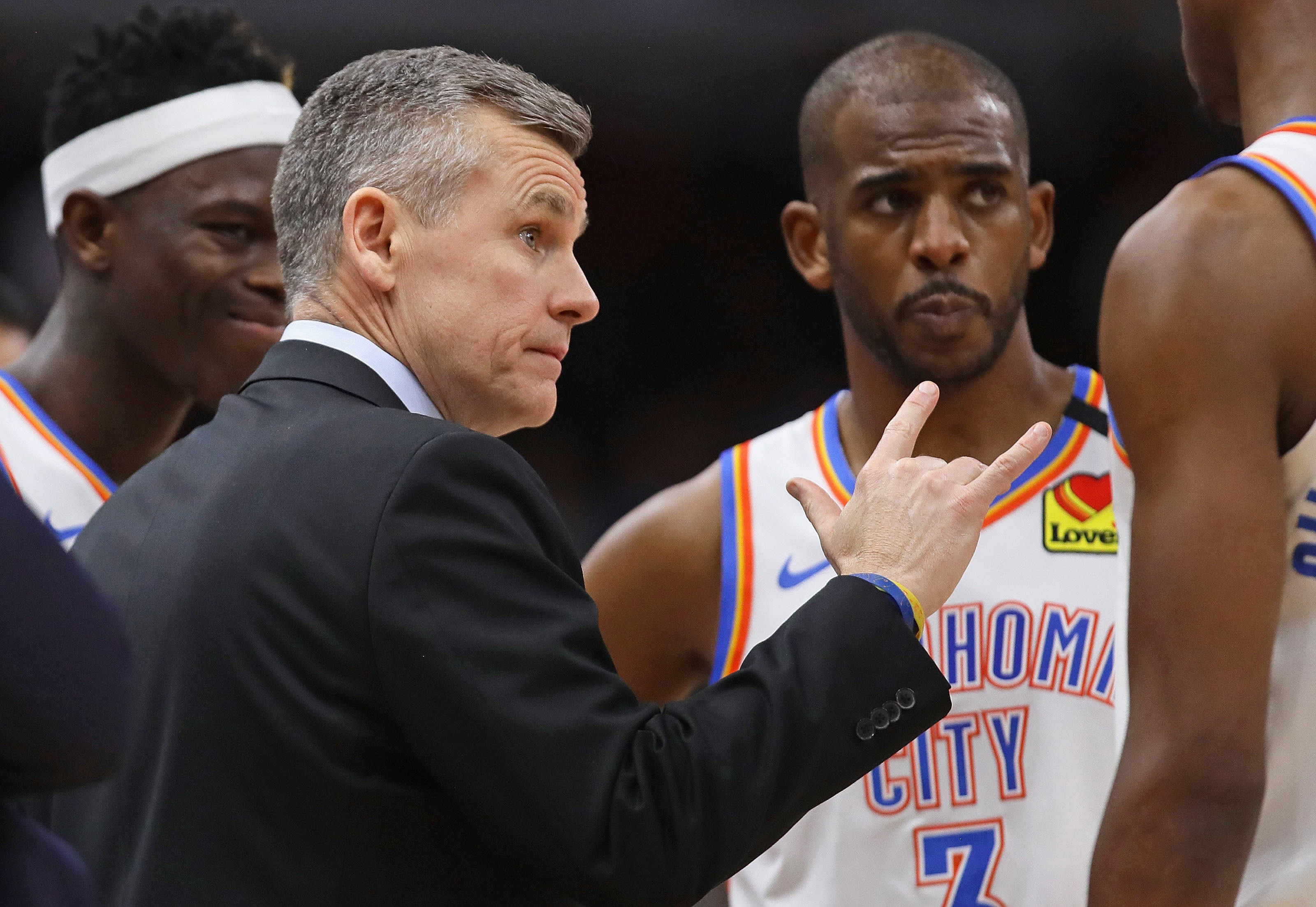Billy Donovan, Chris Paul, Chicago Bulls